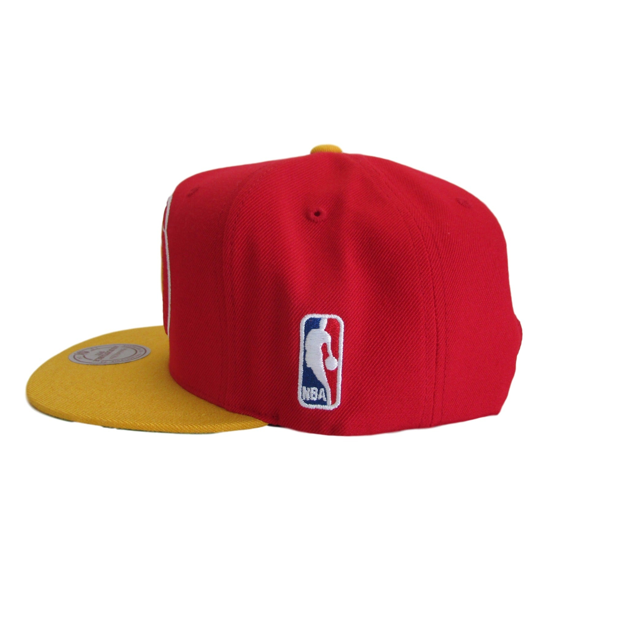 Houston Rockets Mitchell & Ness Basketball Snapback Hat XL Logo