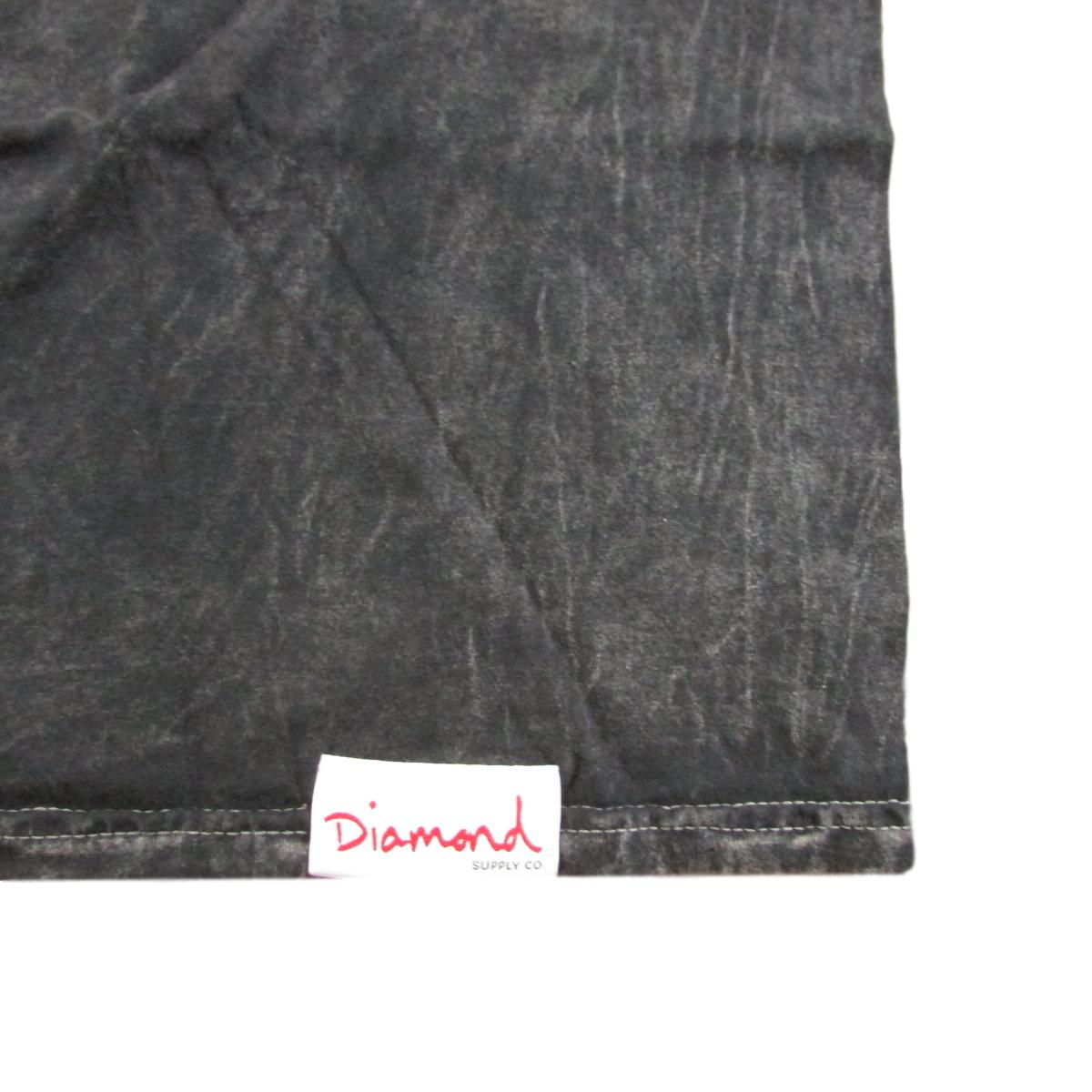 Diamond Supply Co Mirrored Mineral Wash T-Shirt