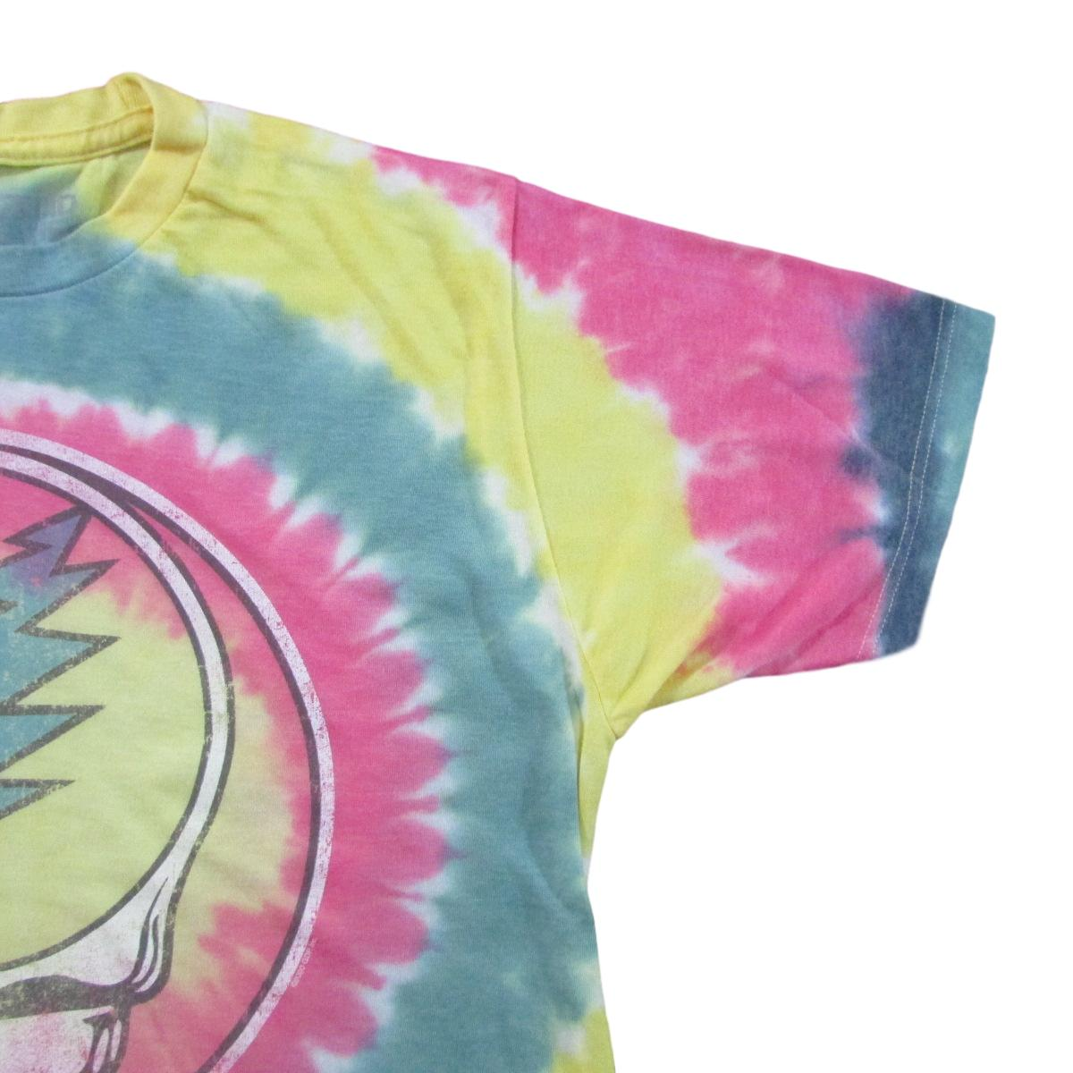 Grateful Dead Rasta Steal Your Face Tie Dye T-Shirt