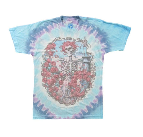 Grateful Dead 30th Anniversary Tie Dye T-Shirt 1995