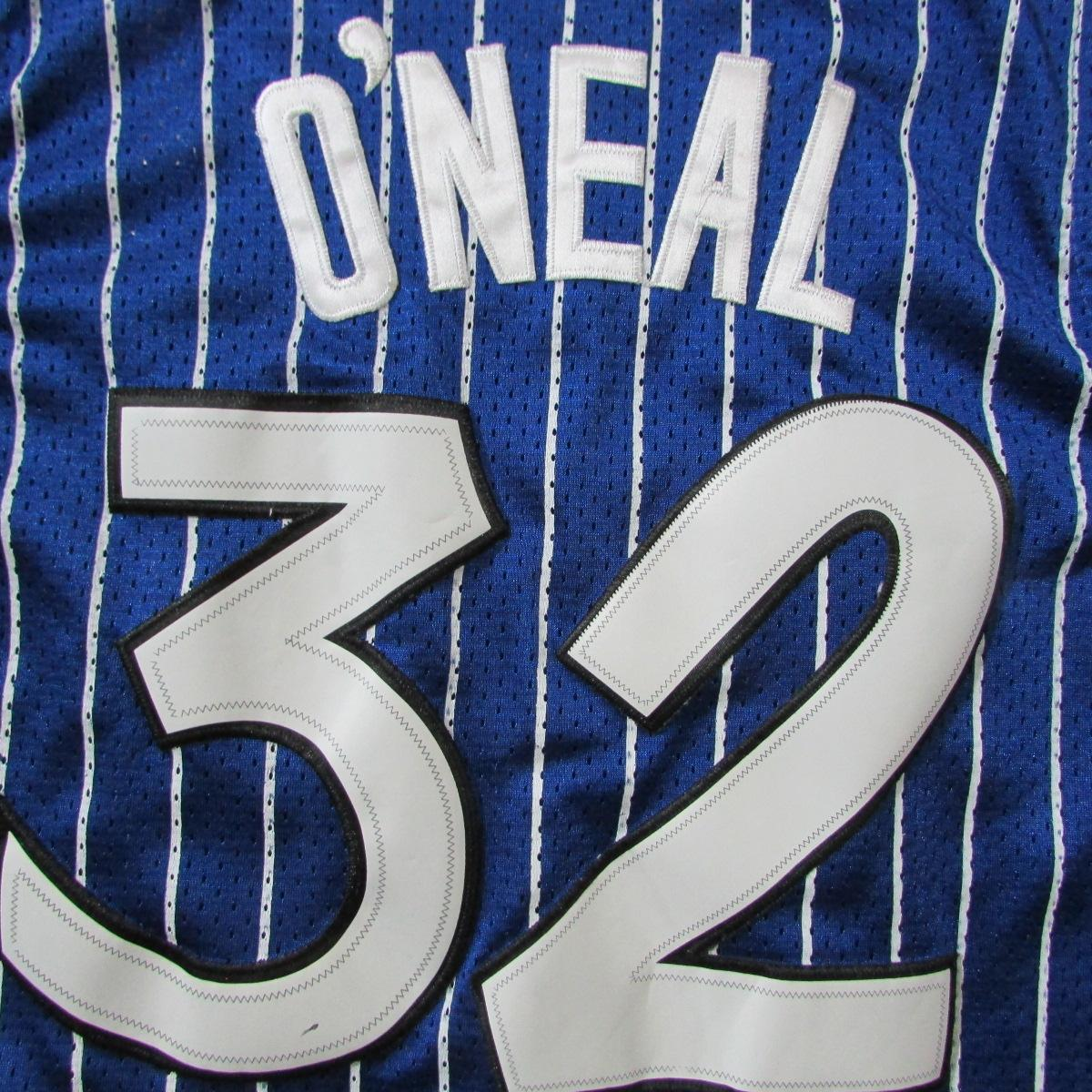 Orlando Magic Shaquille O'Neal Pinstripe 1994 Nike Jersey Sz L