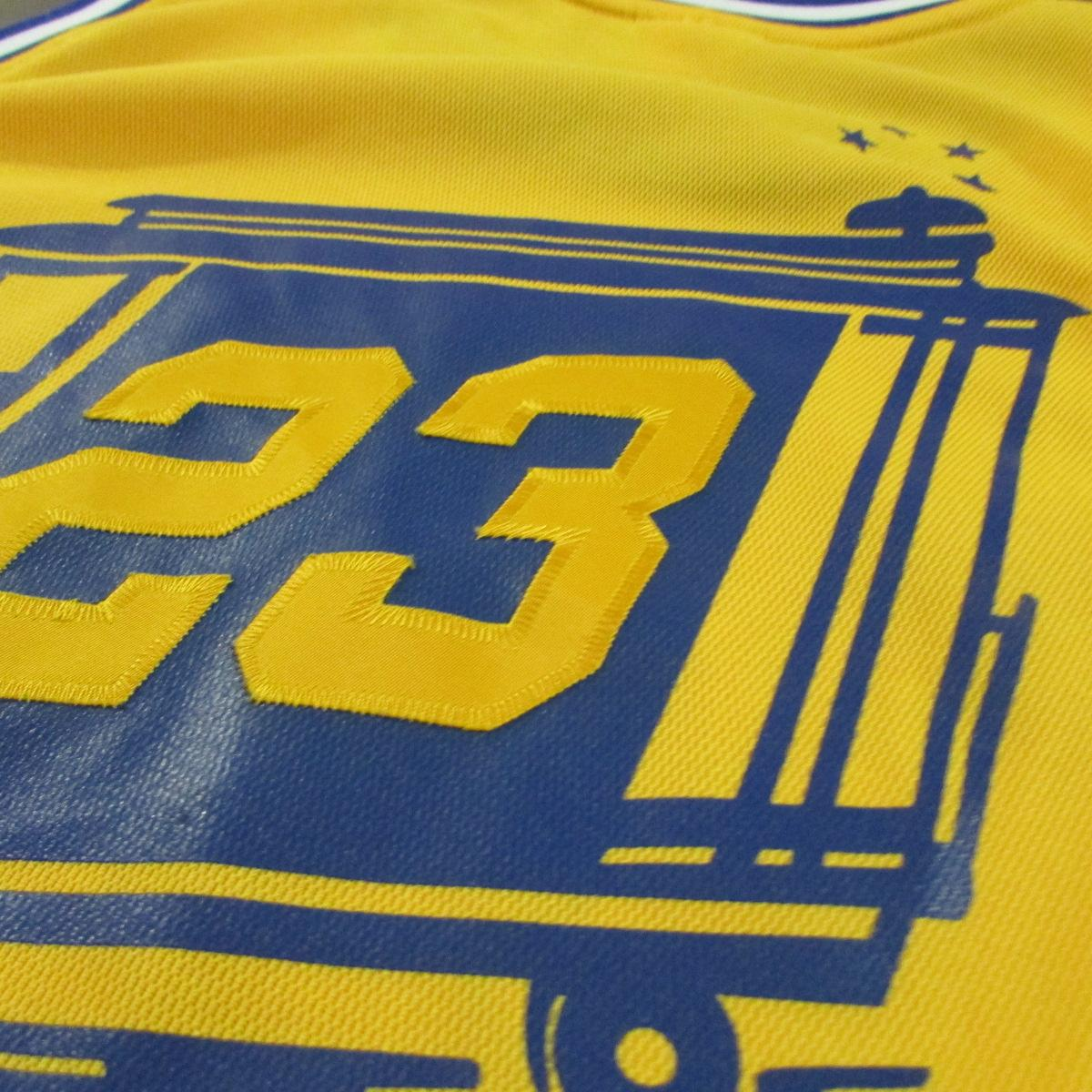 Golden State Warriors Jason Richardson 1966 Throwback City Jersey Sz 48