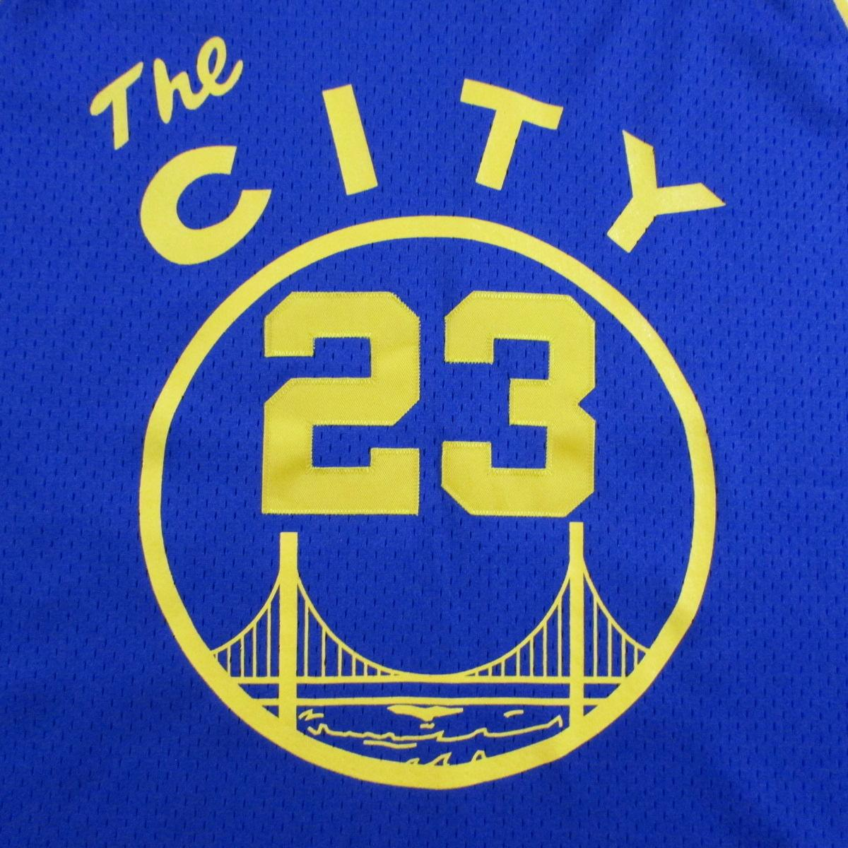 Golden State Warriors Jason Richardson 1966 City Cable Car Jersey Reebok Sz XL