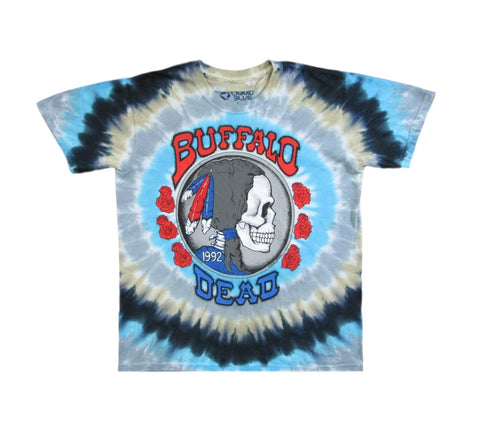Grateful Dead 1992 Buffalo Nickel Tie Dye T-Shirt