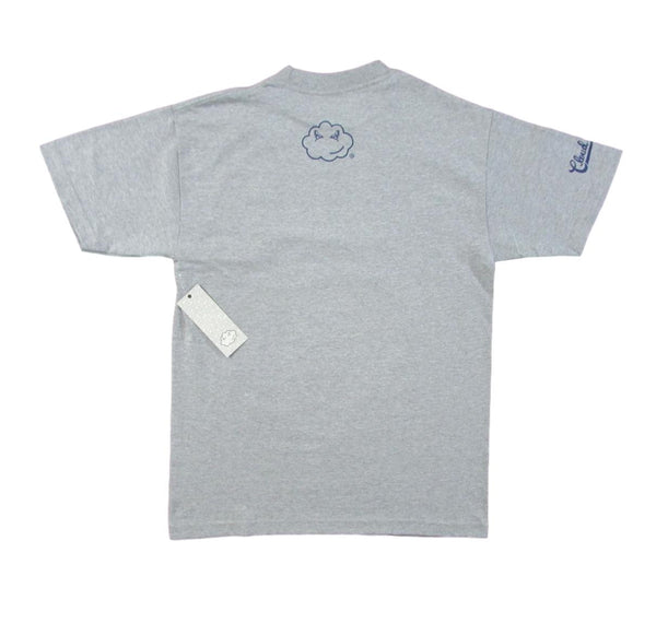 Cloud Kicker Skateboard T-Shirt - American Gray