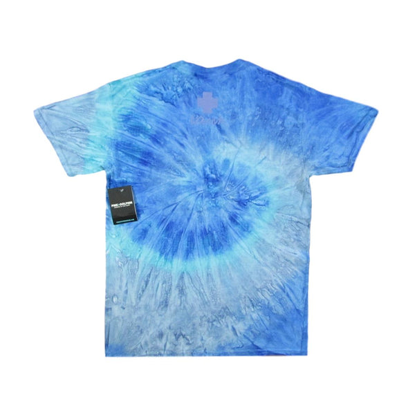 Pink Dolphin Blue Promo Chrome Tie Dye T-Shirt