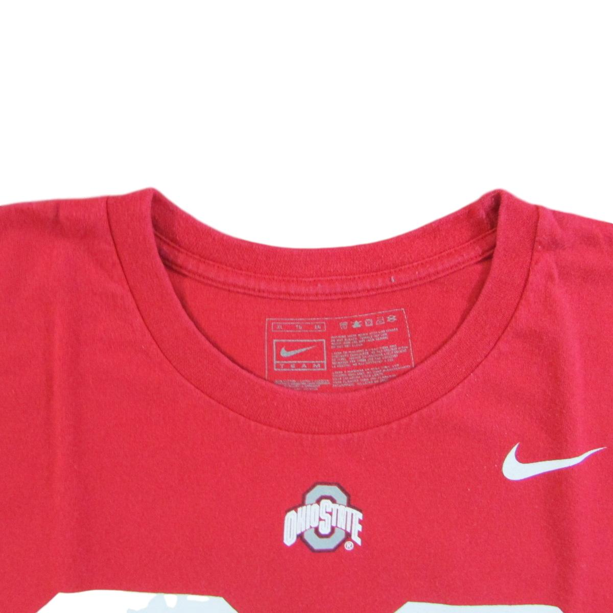 Ohio State University College Football T-Shirt Buckeyes Nike Sz XL
