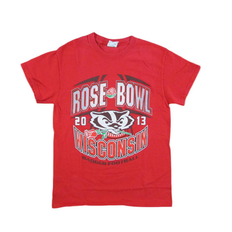 Wisconsin Badgers Football 2013 Rose Bowl T-Shirt Sz S