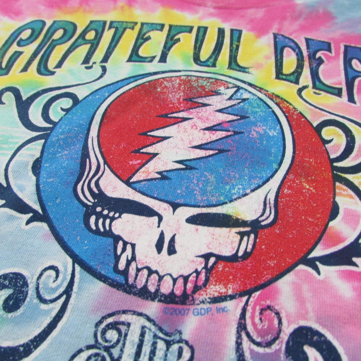 Grateful Dead American Music Hall Spiral Tie Dye T- Shirt