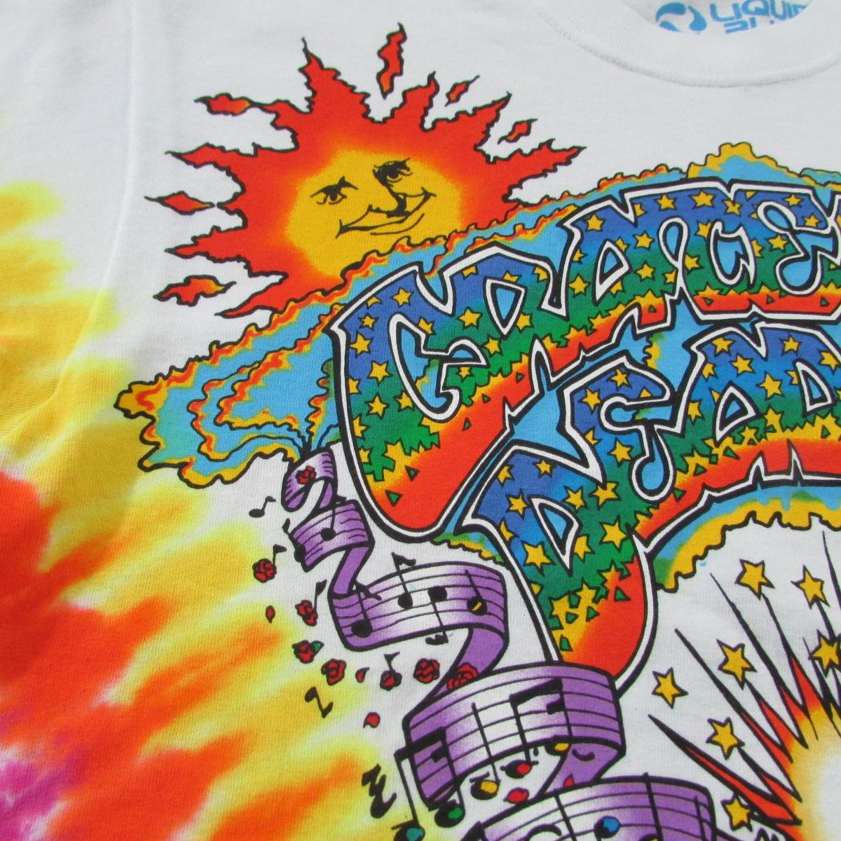Grateful Dead Summer Tour 1992 Tie Dye T-Shirt