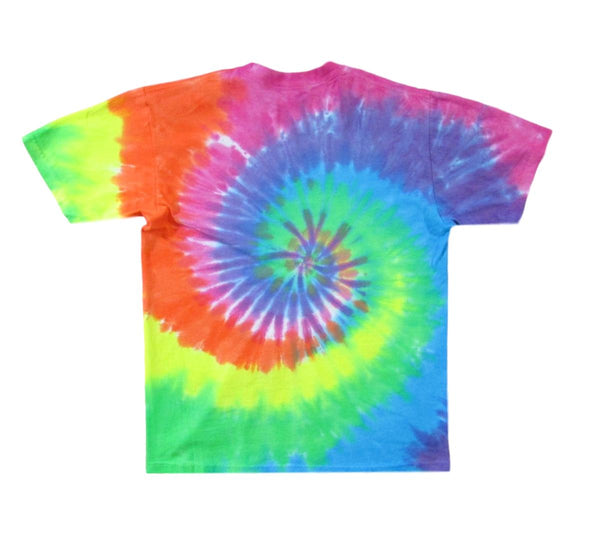 Grateful Dead Spiral Trippy Bears Tie Dye T-Shirt