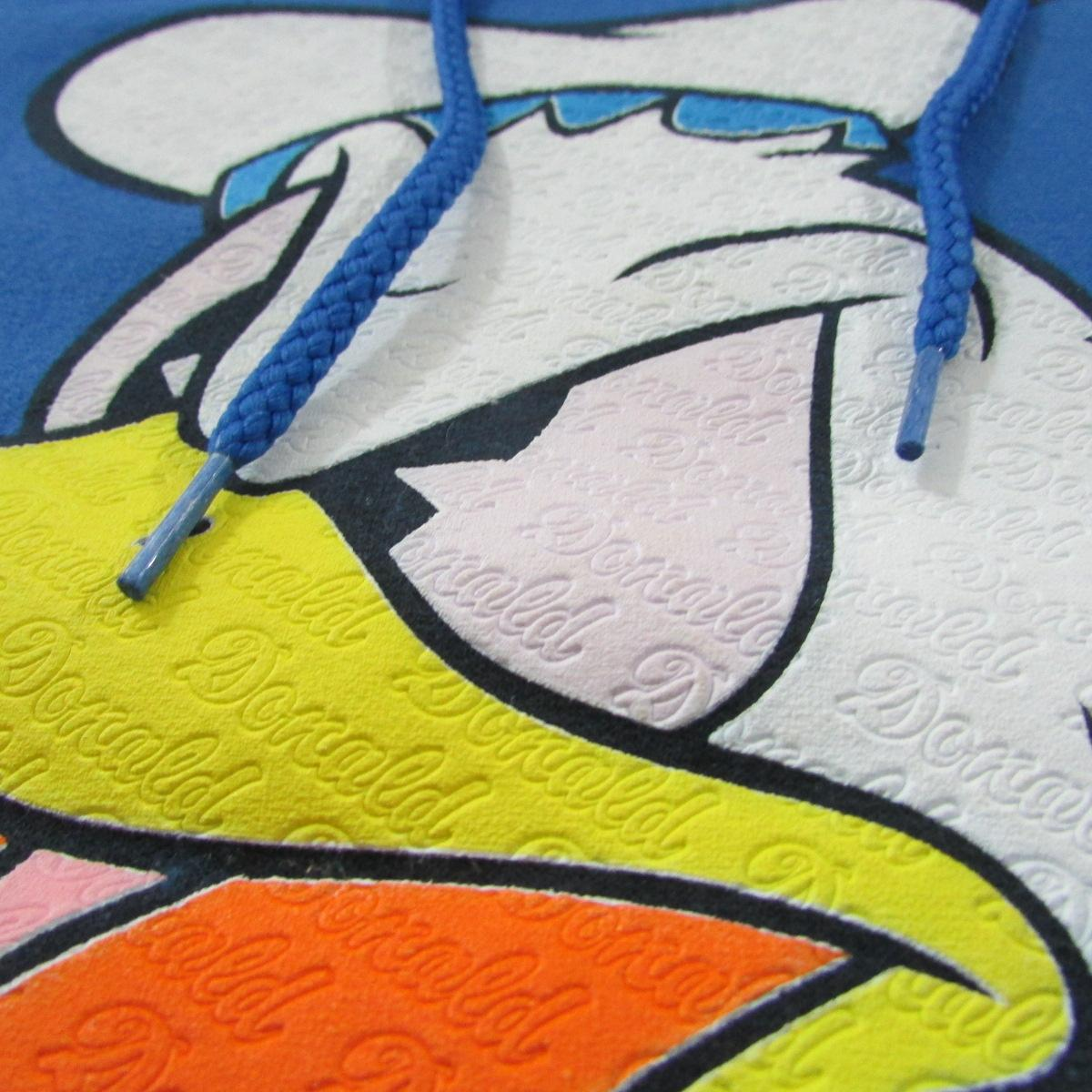 Walt Disney World Donald Duck Hoodie Sweater Sz M