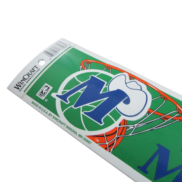 Vintage Dallas Mavericks Bumper Sticker Decal