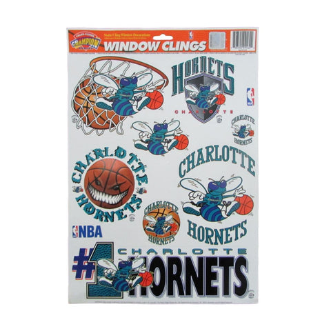Vintage Charlotte Hornets Decal Set Stickers