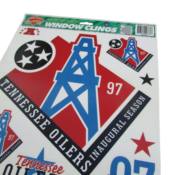 Vintage Tennessee Oilers Decal Set Stickers