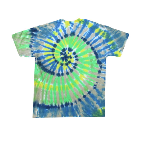 Grateful Dead Spring Tour 1977 Bertha Skull Tie Dye T-Shirt