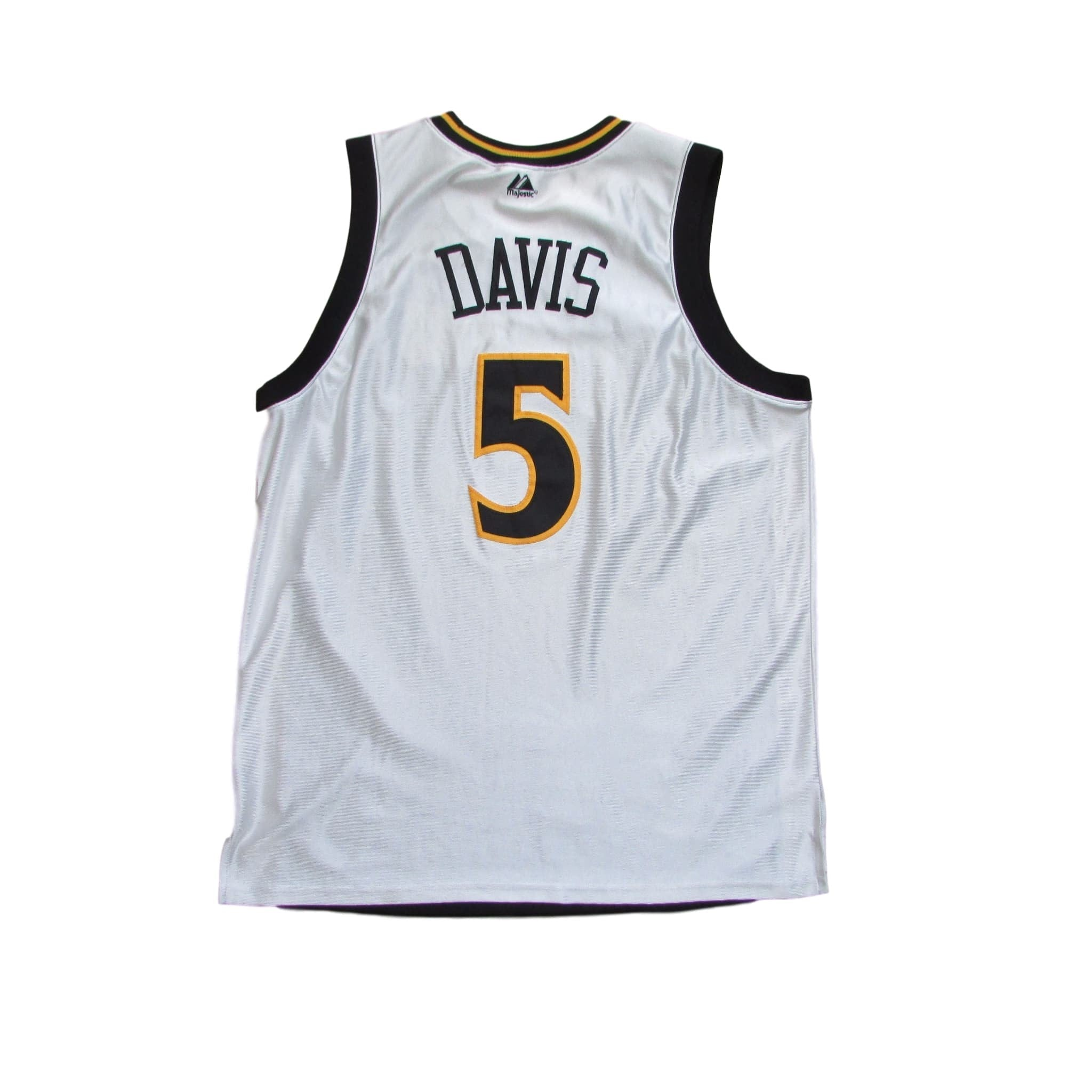 Golden State Warriors Baron Davis Script Face Logo Jersey Sz L