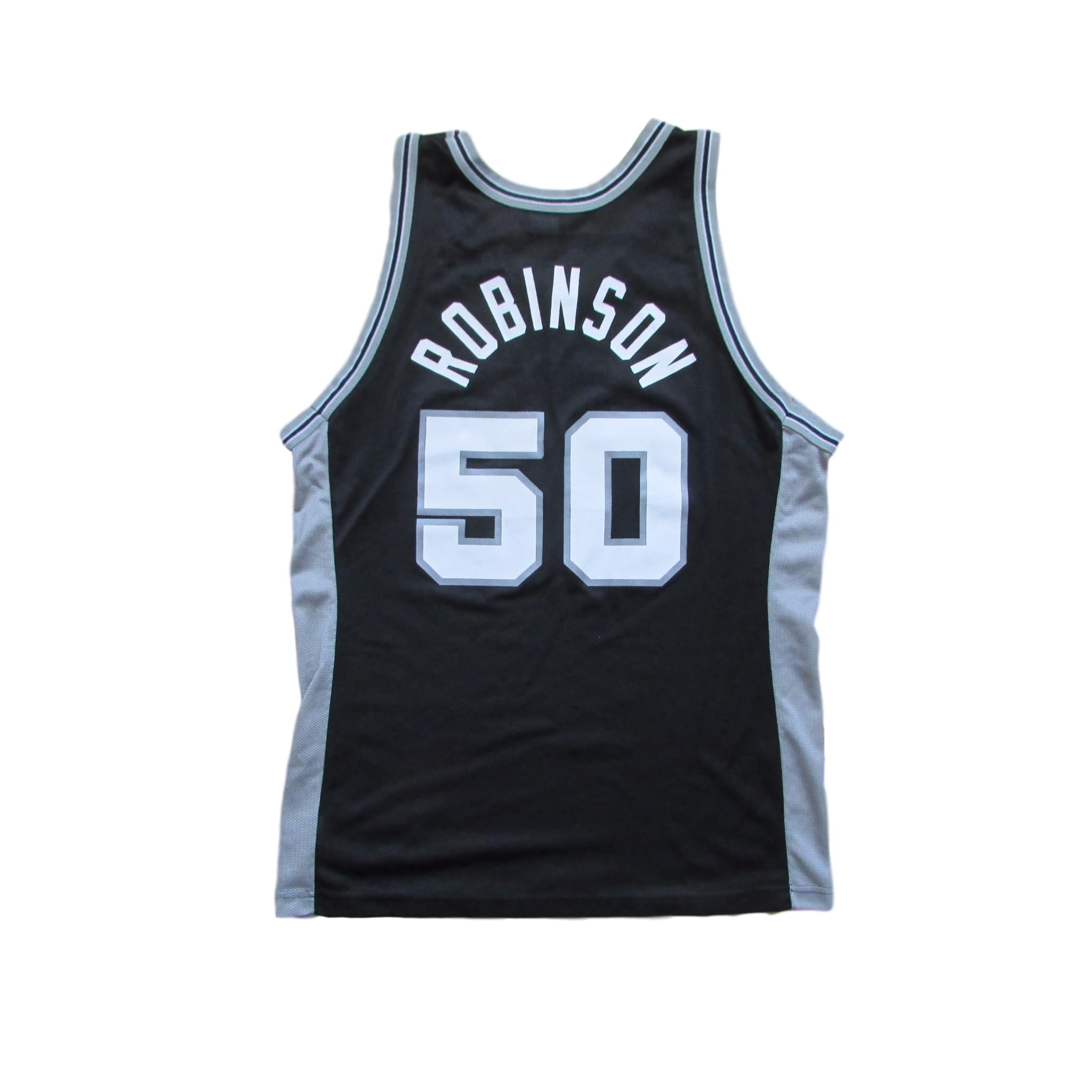 San Antonio Spurs David Robinson Basketball Jersey Champion Sz 44