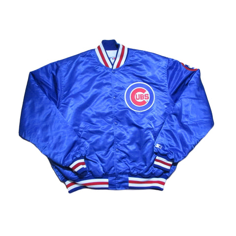 Vintage Chicago Cubs Starter Satin Jacket Sz XL