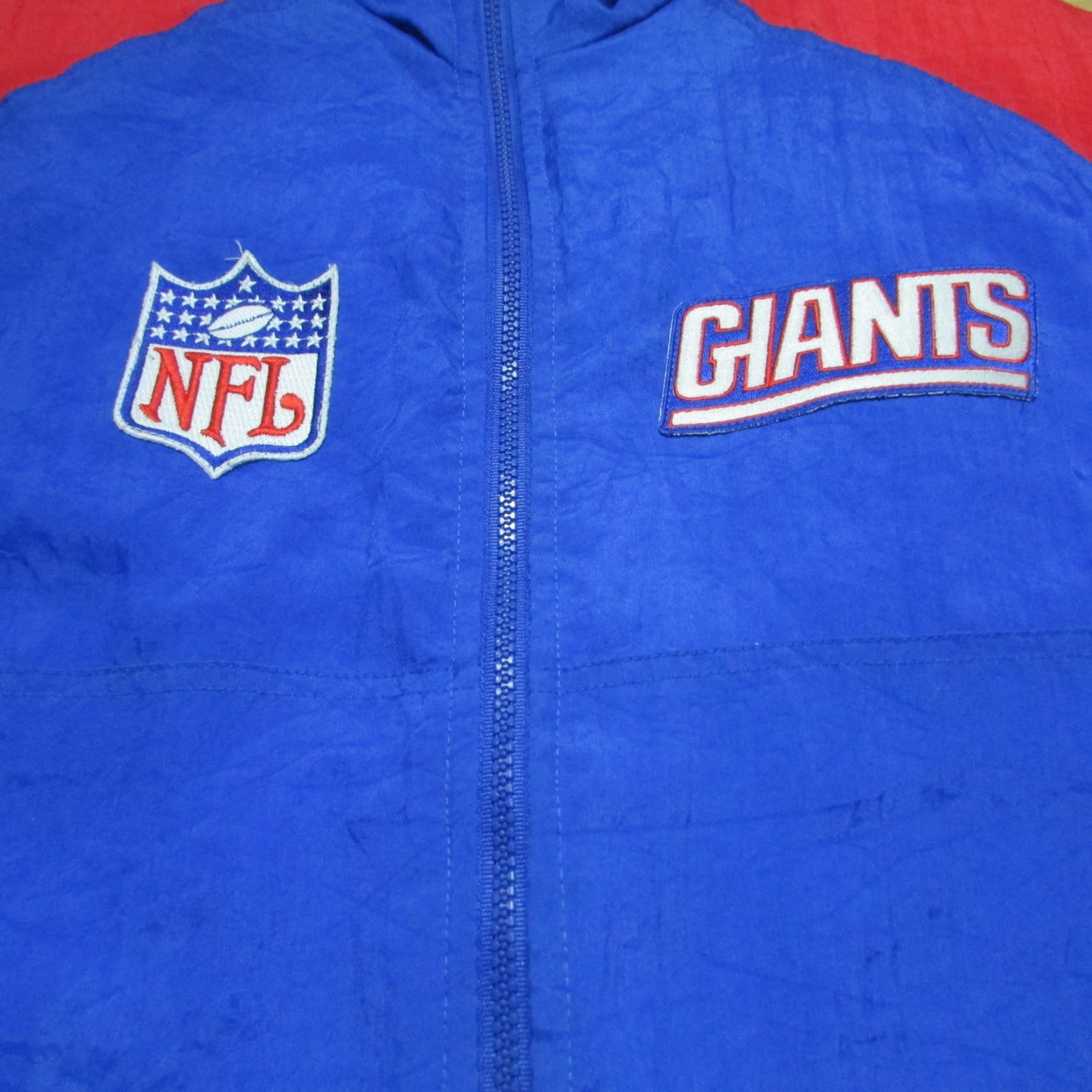 New York Giants Vintage Vest Jacket APEX ONE Sz L