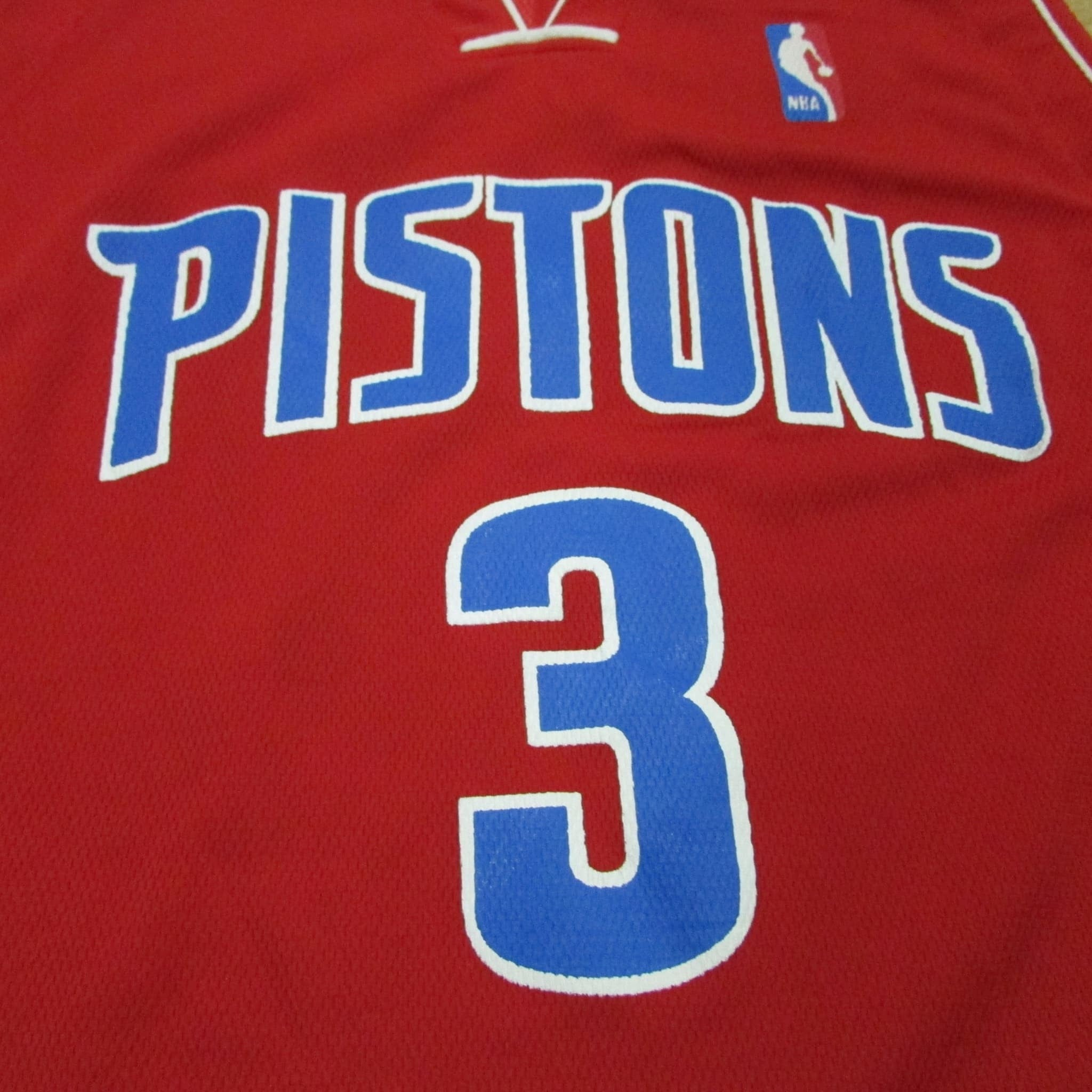 Detroit Pistons Ben Wallace Alternative Colors 06 Jersey Sz L