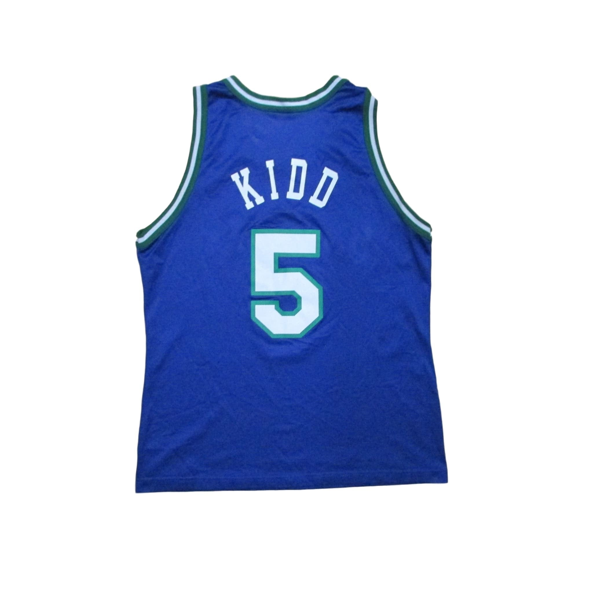 Dallas Mavericks Jason Kidd Basketball Jersey Champion Sz 44