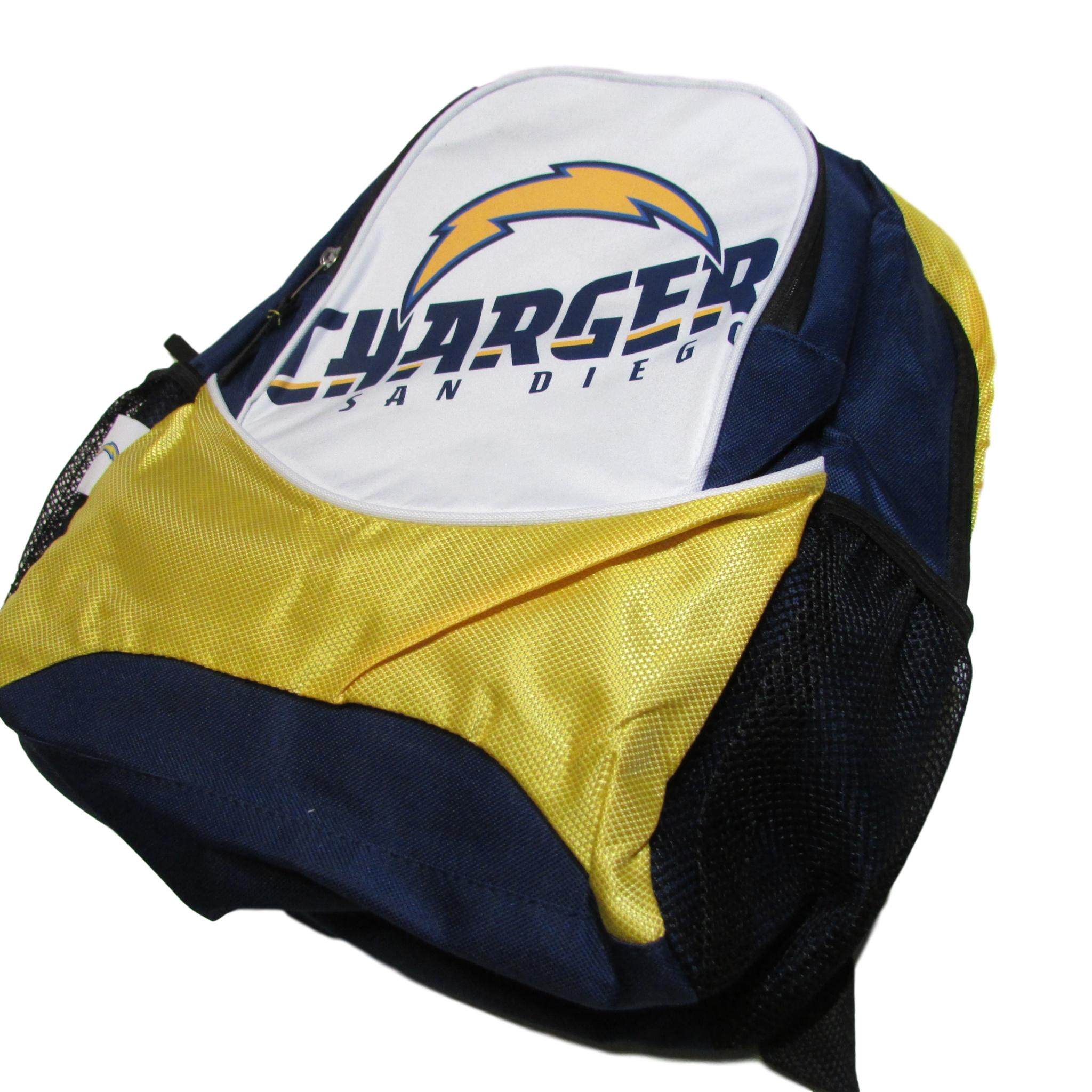 San Diego Chargers NFL Thunderbolt Backpack