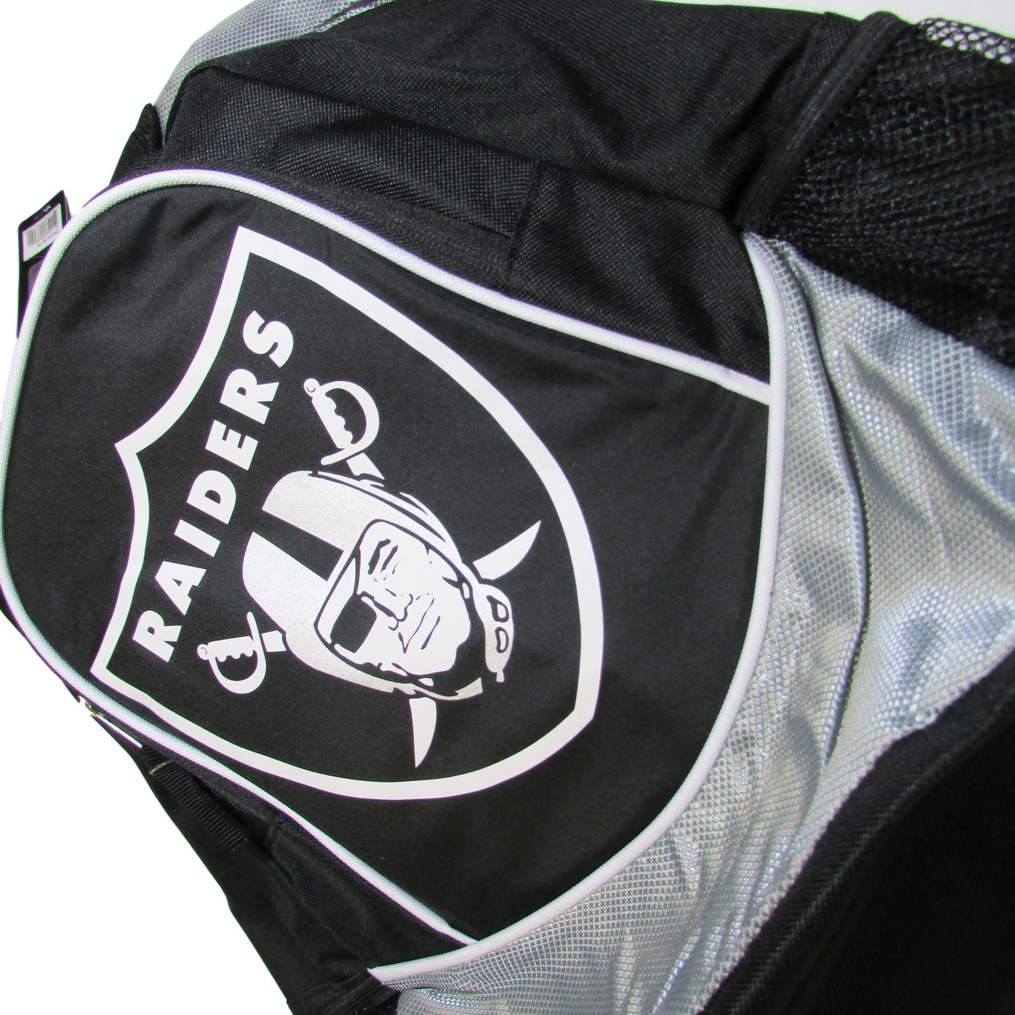 Oakland Raiders NFL OAK Emblem Backpack