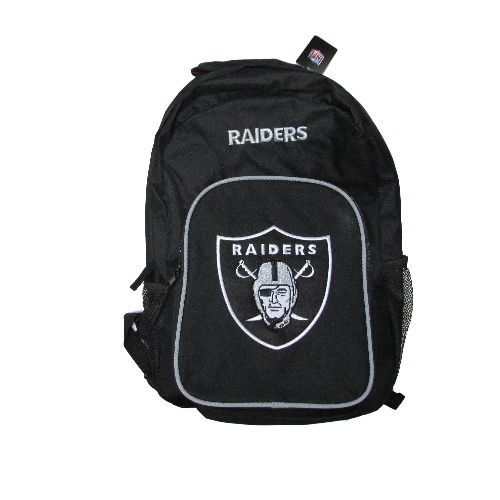 Oakland Raiders Classic Black NFL Backpack