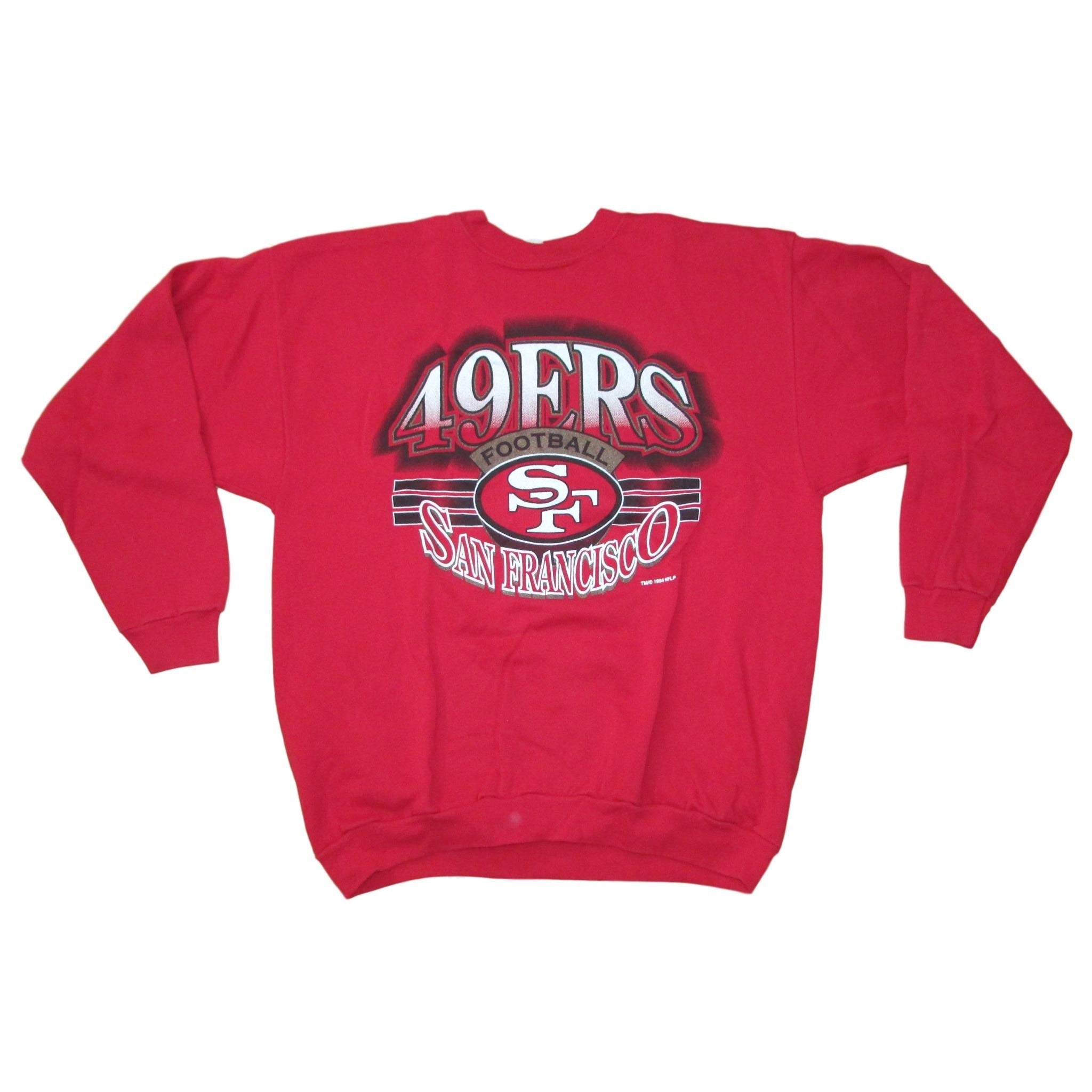 San Francisco 49ers Vintage Sweater by Spectator Sportswear Sz XL