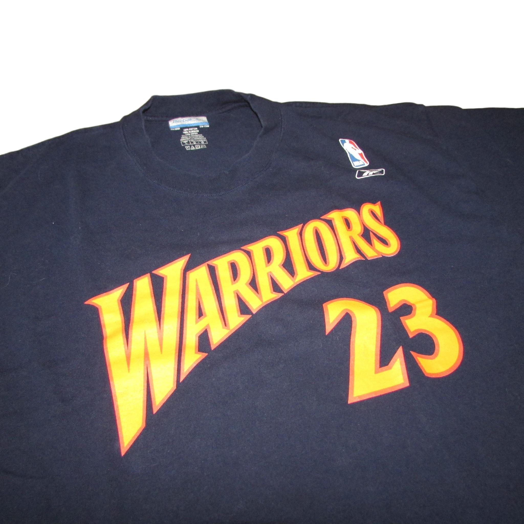 Golden State Warriors Jason Richardson We Believe T-Shirt Reebok Sz L