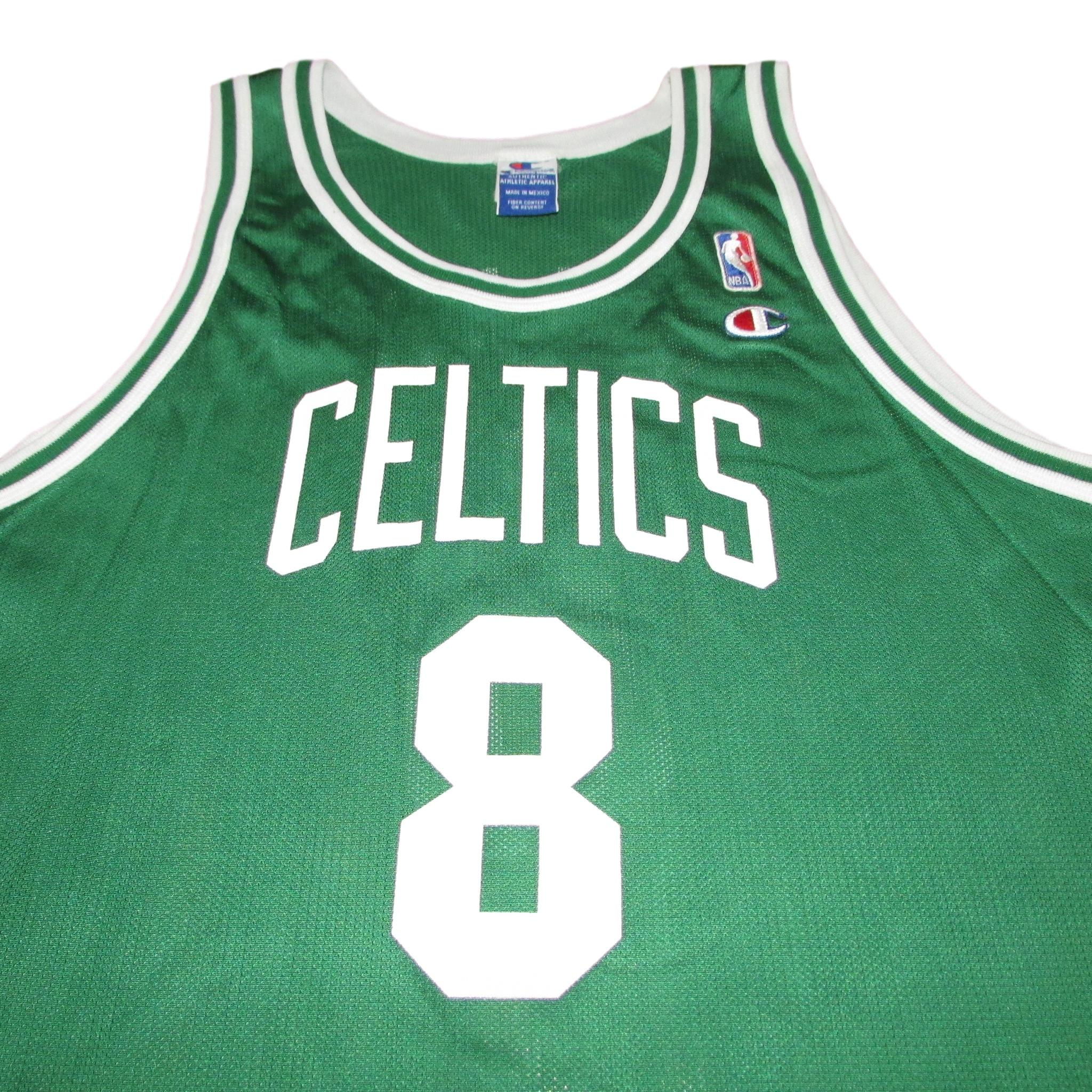 Boston Celtics Vintage Champion Jersey Antoine Walker Jersey Sz 48