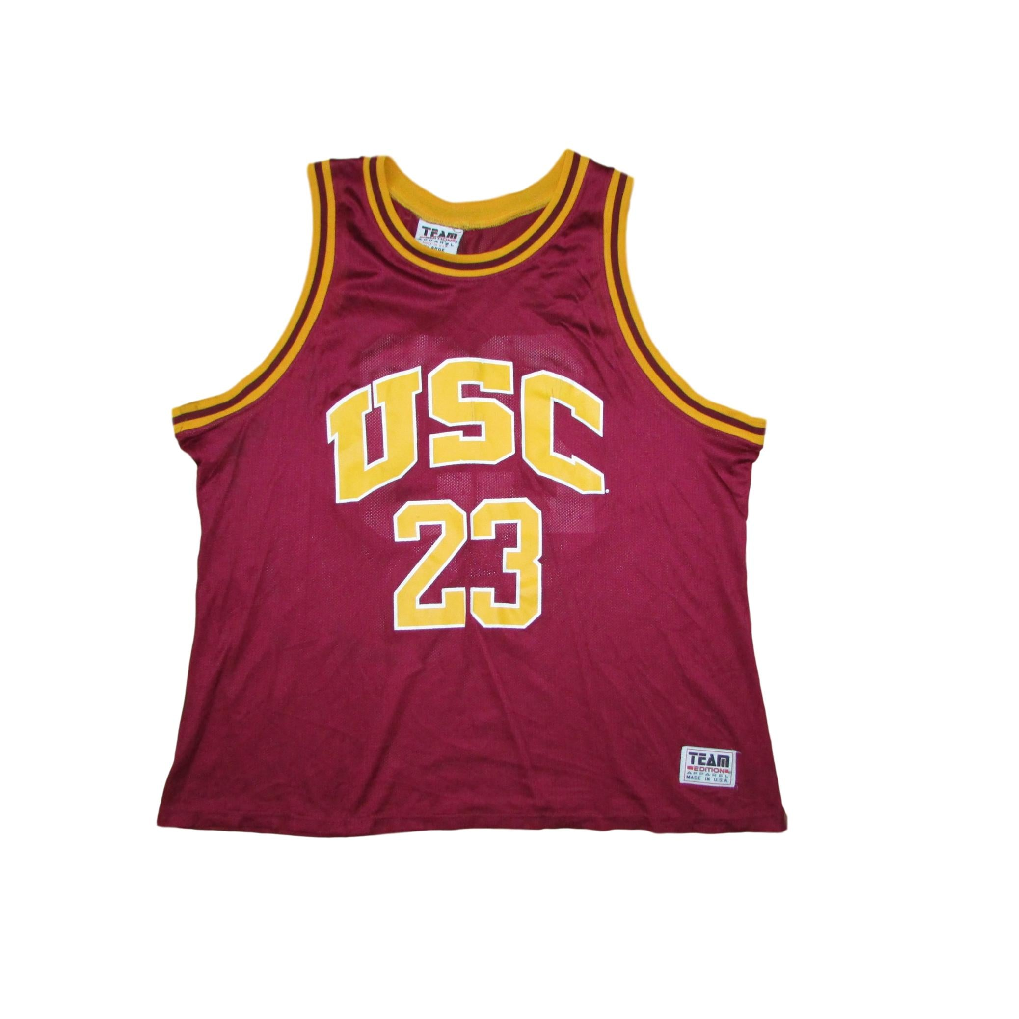 timeless design e44c5 e5601 USC Trojans Vintage Basketball Jersey #23 Team Edition Sz XL