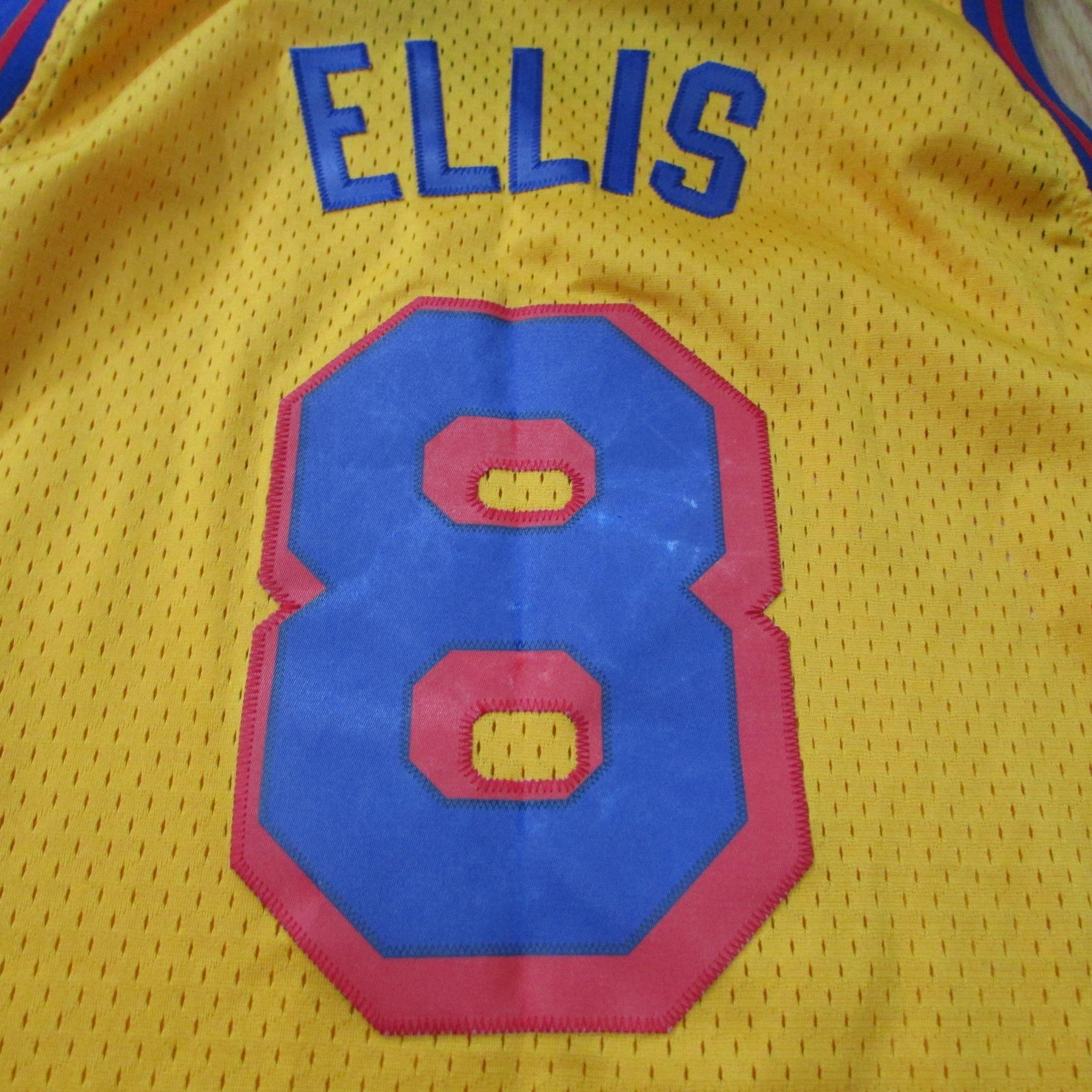 San Francisco Warriors Monta Ellis Basketball Jersey Hardwood Classics Sz XL