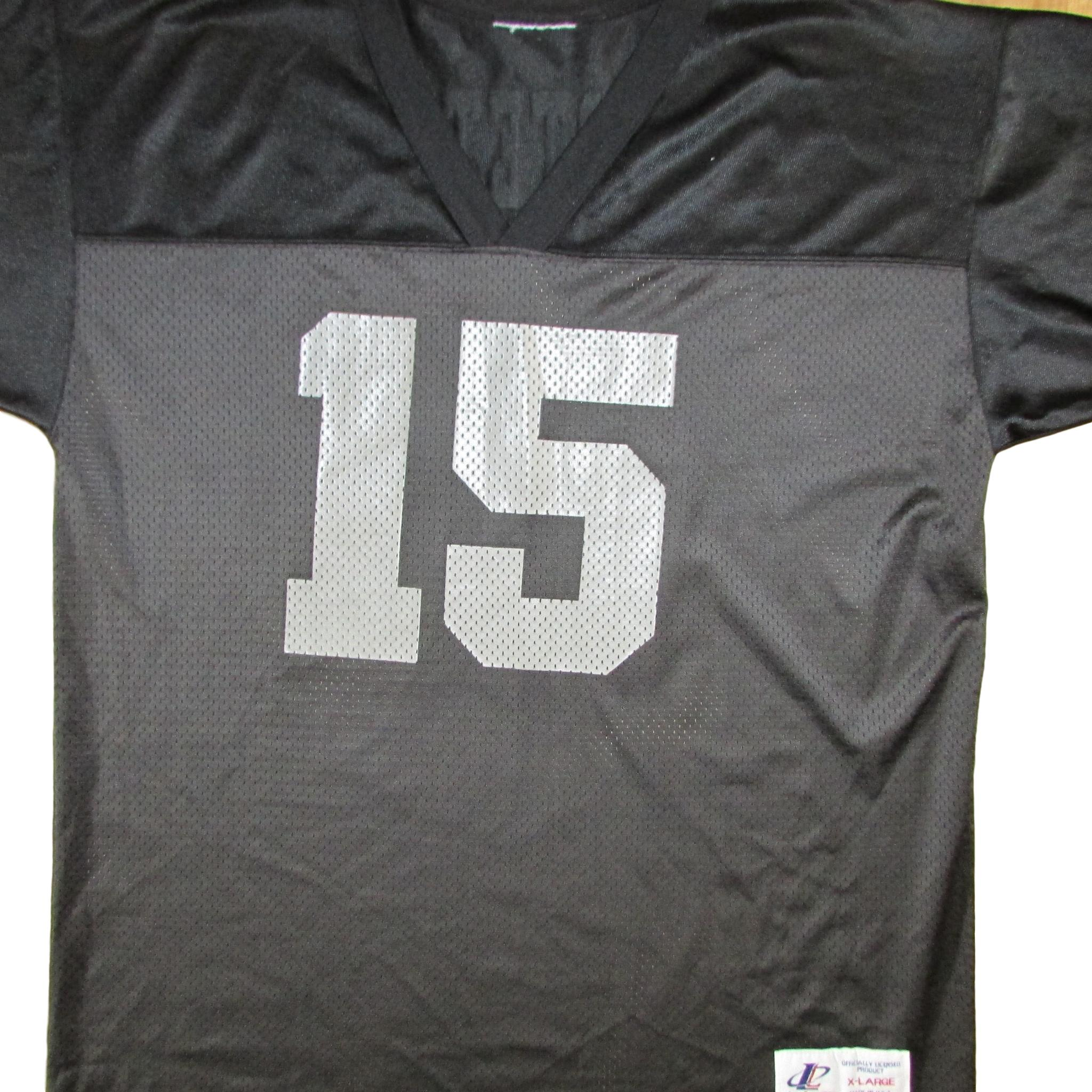 Los Angeles Raiders Jeff Hostetler 1993 Football Jersey Logo Athletic Sz XL