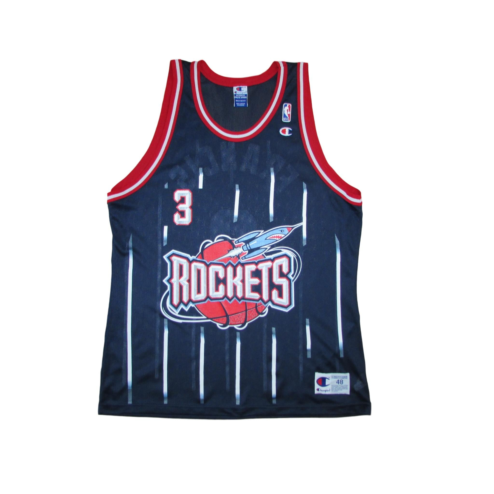 de8d4427c32 Houston Rockets Steve Francis 1999 Basketball Jersey Champion Sz 48 ...