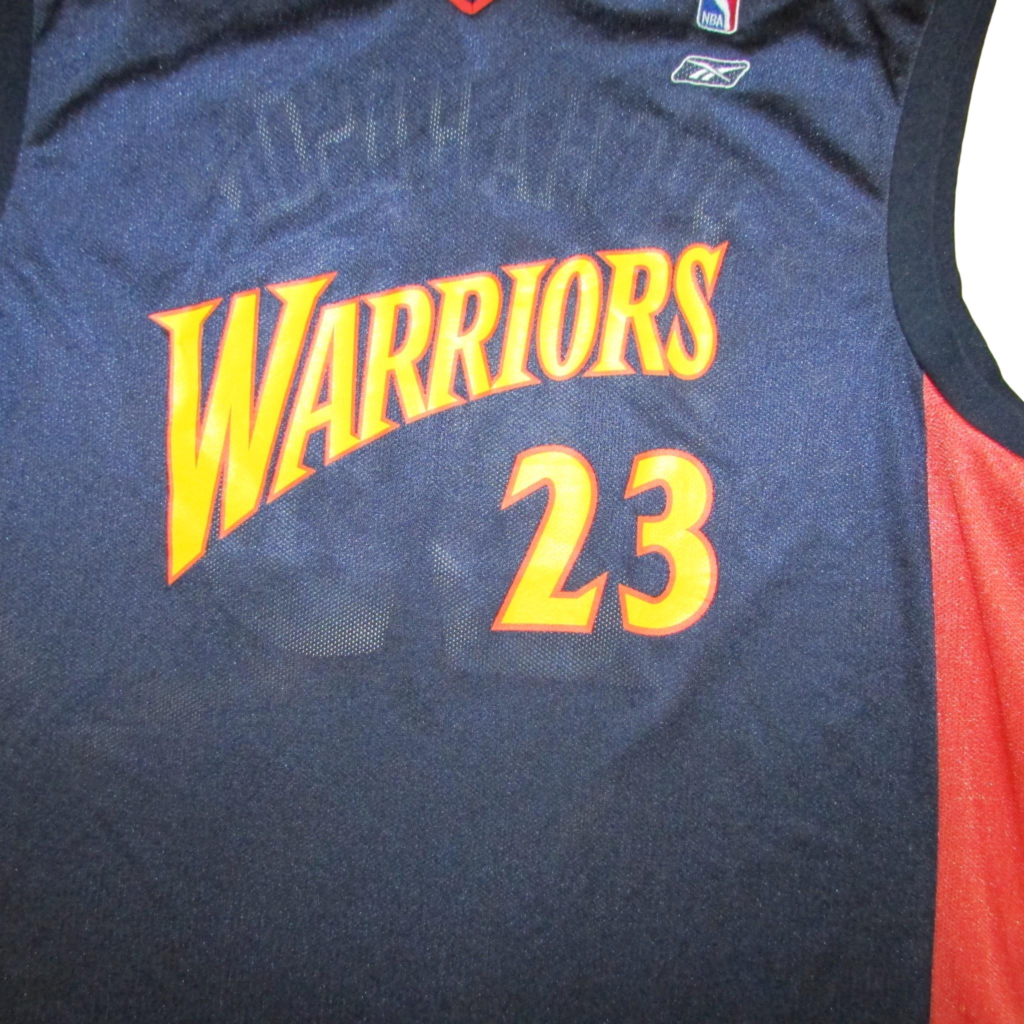 Golden State Warriors Jason Richardson Basketball Jersey Reebok Sz XL