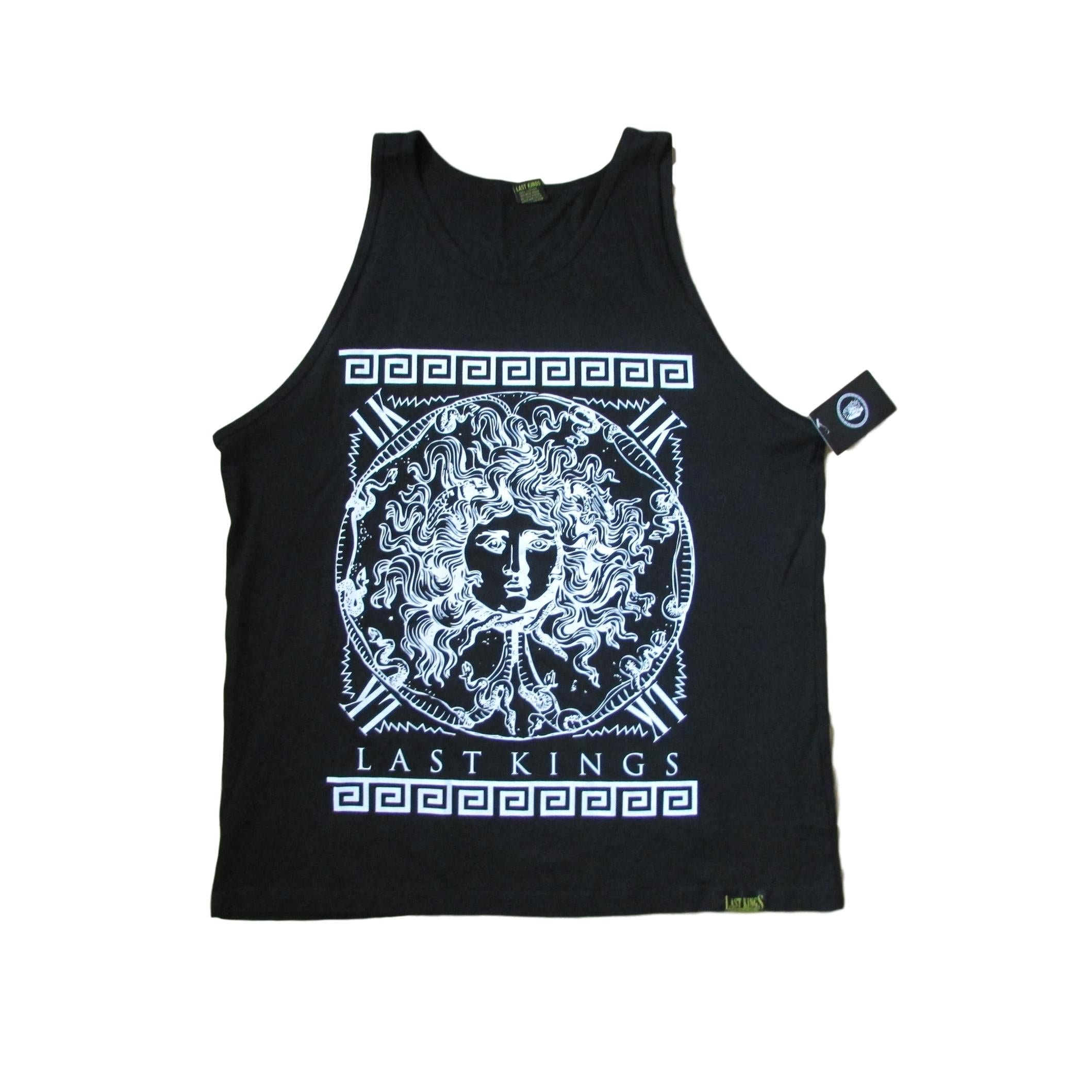 Last Kings Medusa Evolution Snake Premium Tank T-Shirt