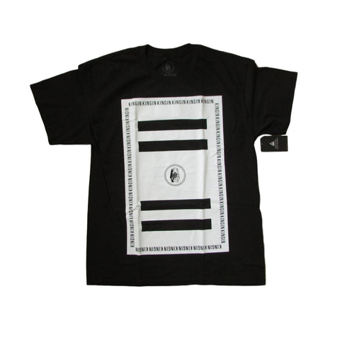 Last Kings White Block Regular T-Shirt
