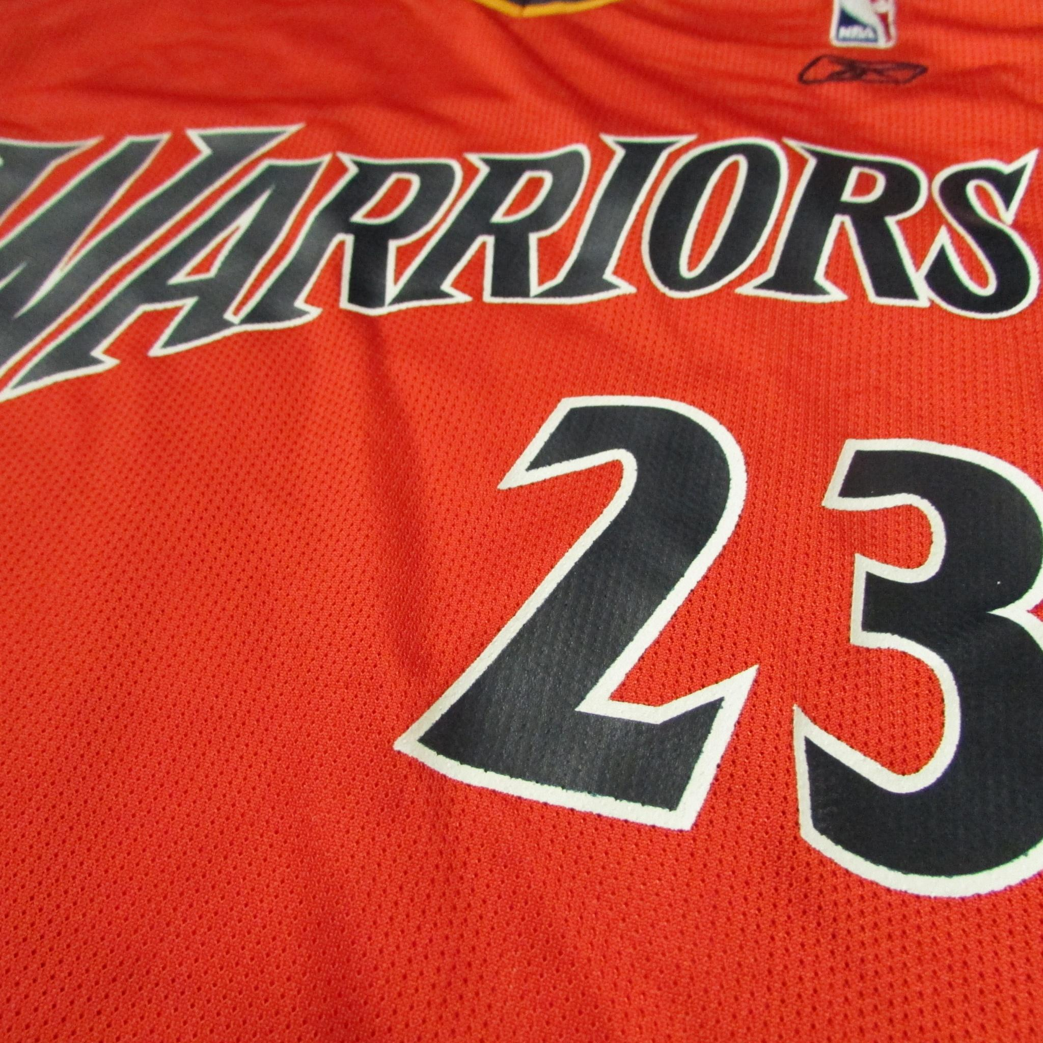 Golden State Warriors Jason Richardson We Believe Alternative Color Reebok Jersey Sz M