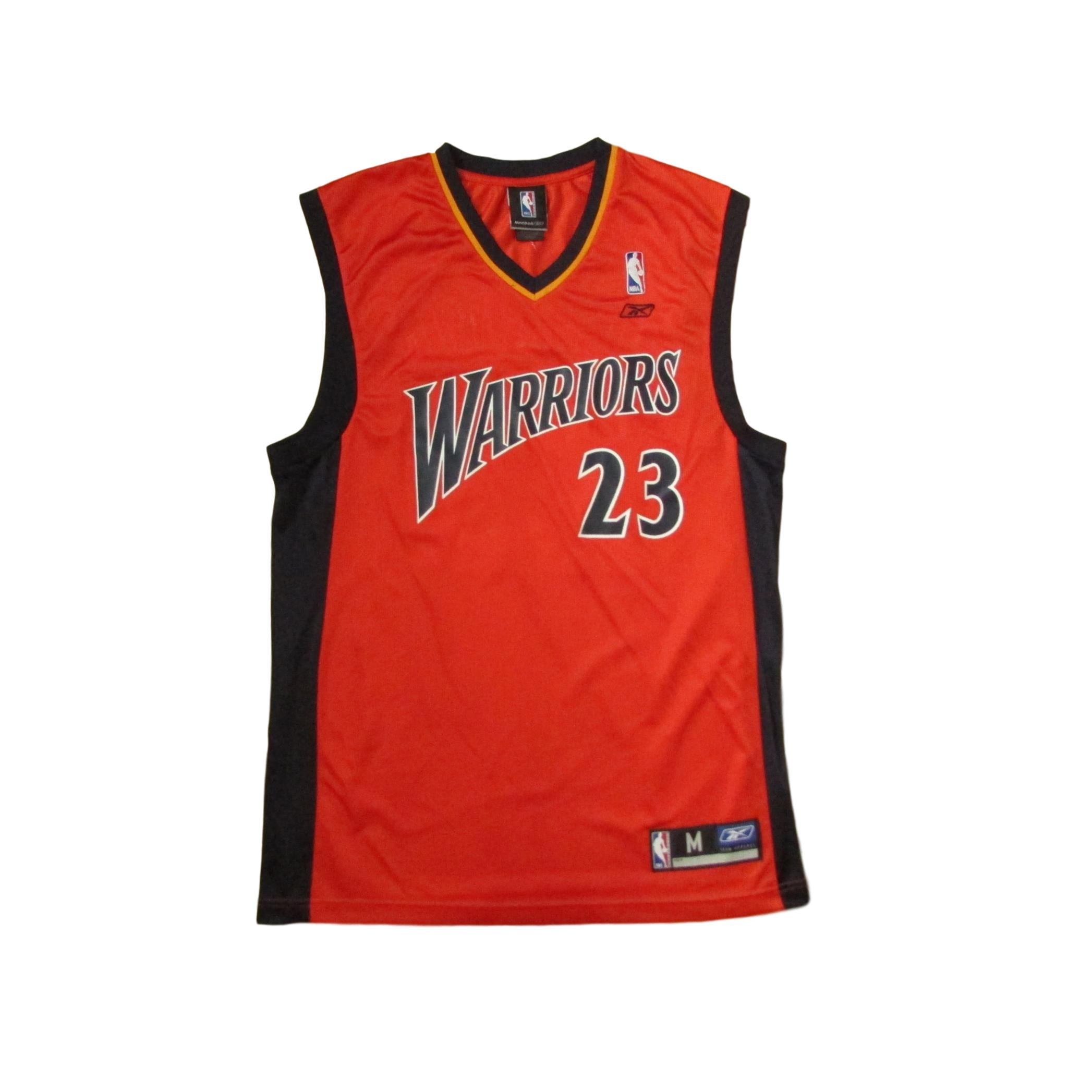 meet 50e81 f13d6 Golden State Warriors Jason Richardson We Believe Alternative Color Reebok  Jersey Sz M