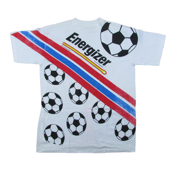 1994 World Cup Olympics Soccer Ball Energize Bunny Rabbit T-Shirt