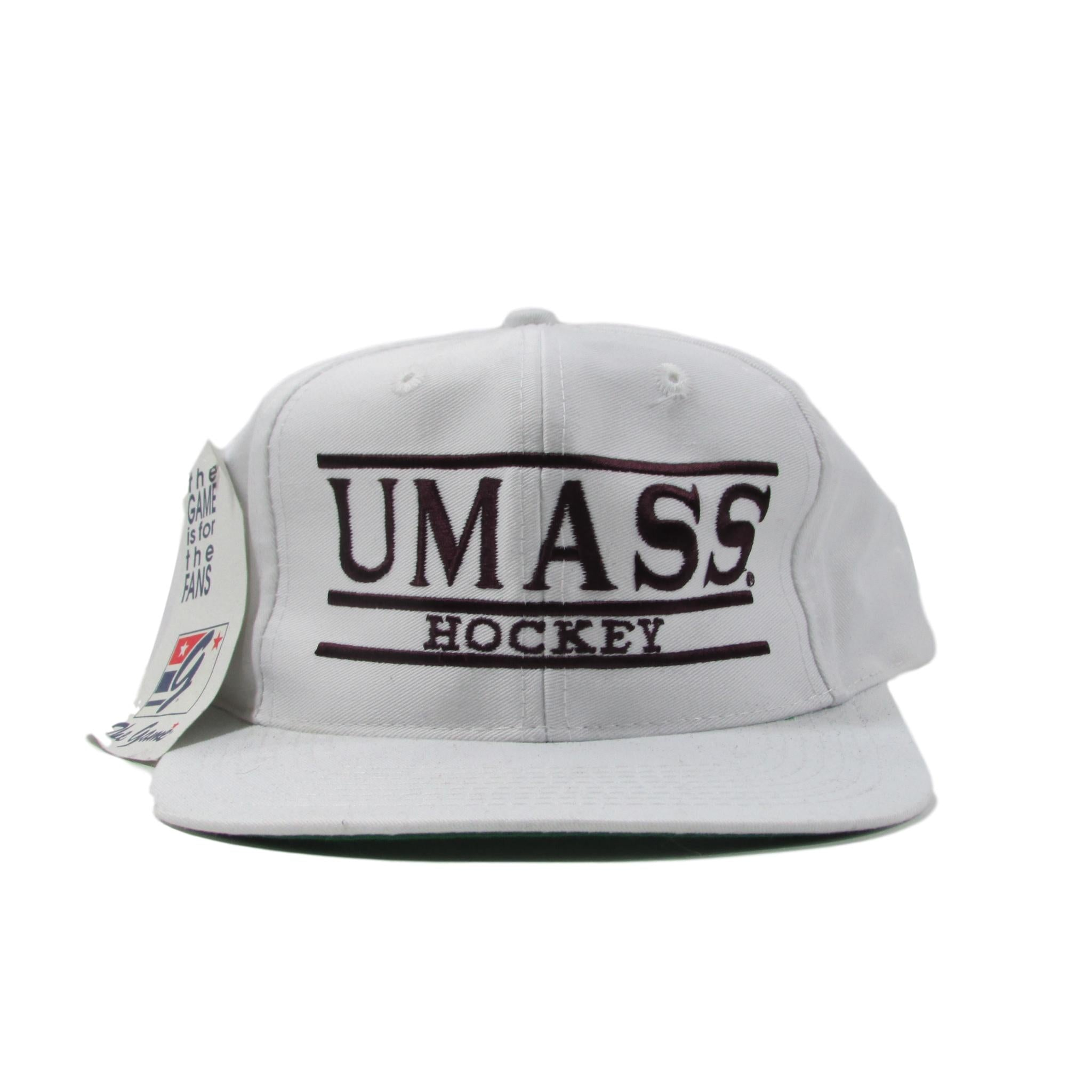 The Game UMASS University of Massachusetts Hockey Deadstock Snapback Hat
