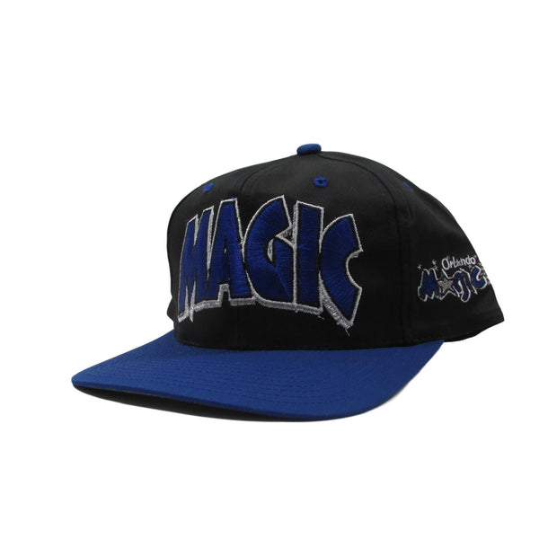 Orlando Magic Deadstock NBA Basketball Snapback Hat 3d Arch Logo