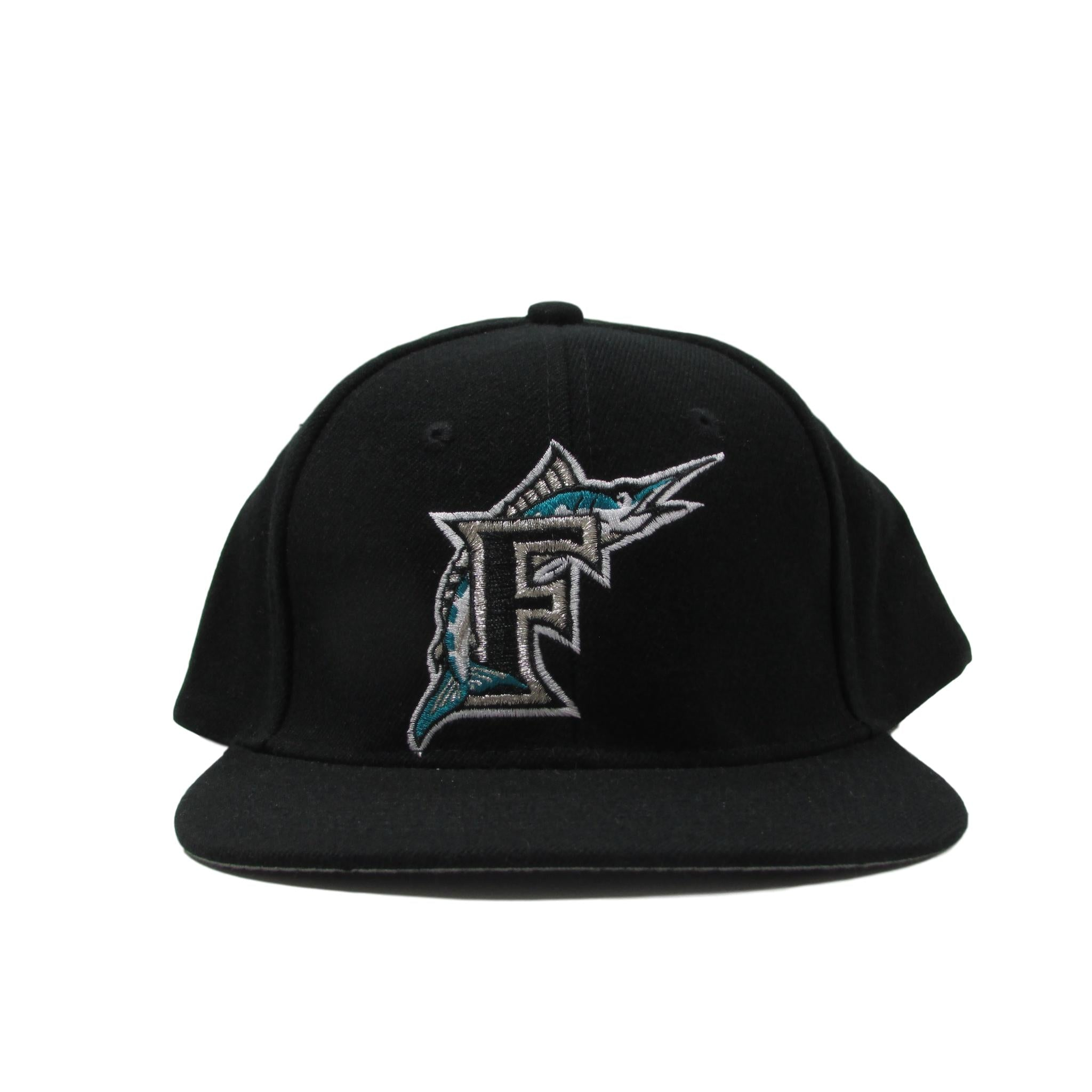 Florida Marlins Deadstock Baseball Snapback Hat 1993 Logo