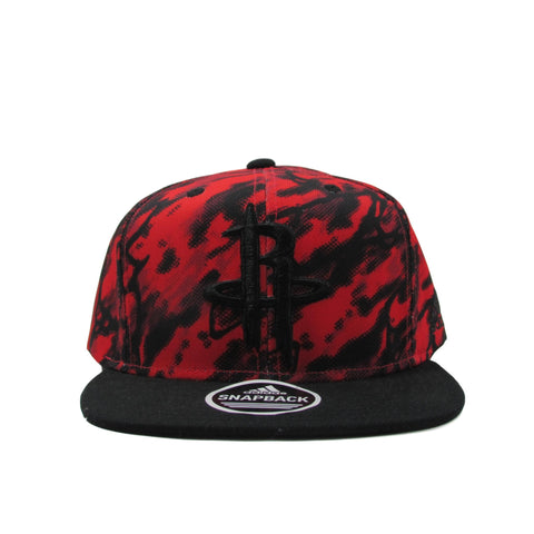 Houston Rockets Camouflage Red NBA Snapback by Adidas