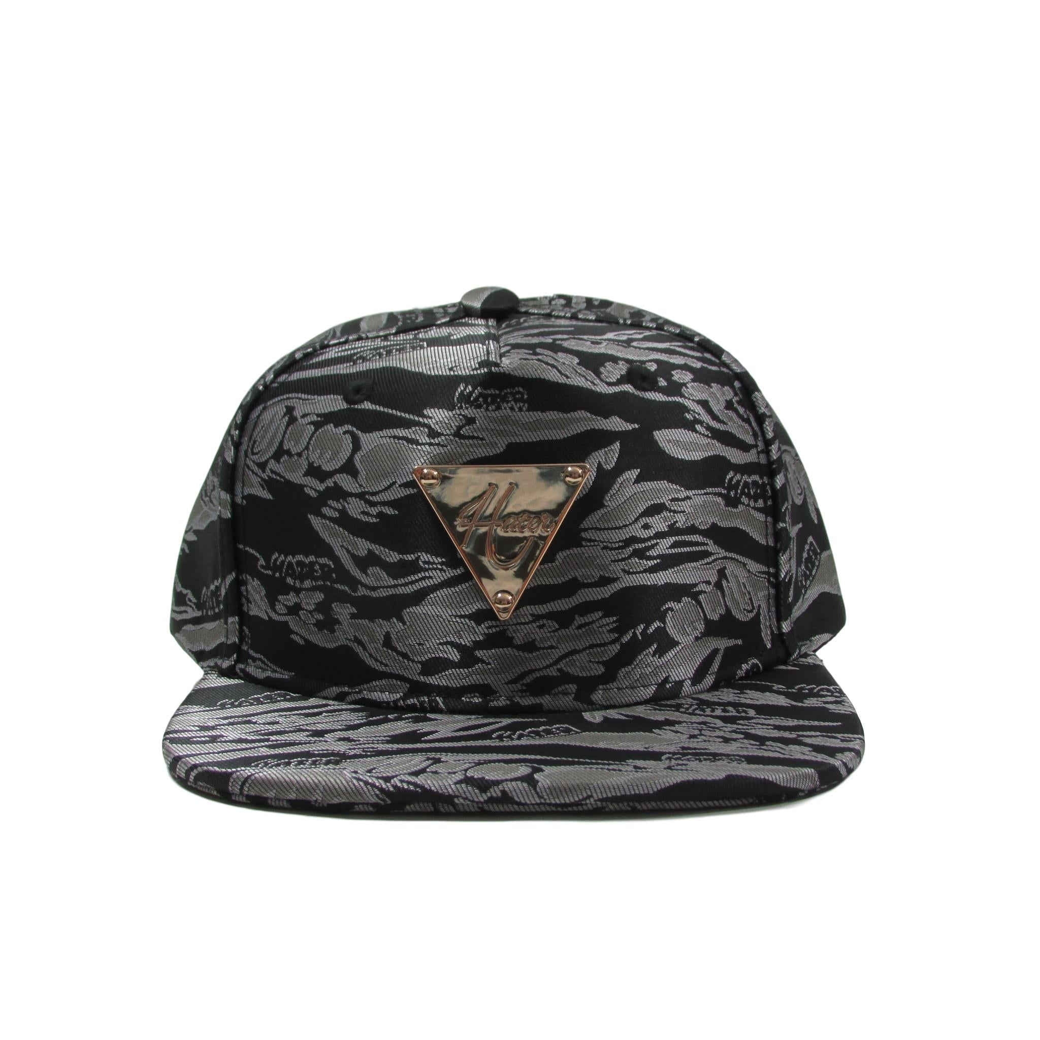 HATer Silver Jacquard Camouflage Snapback Hat