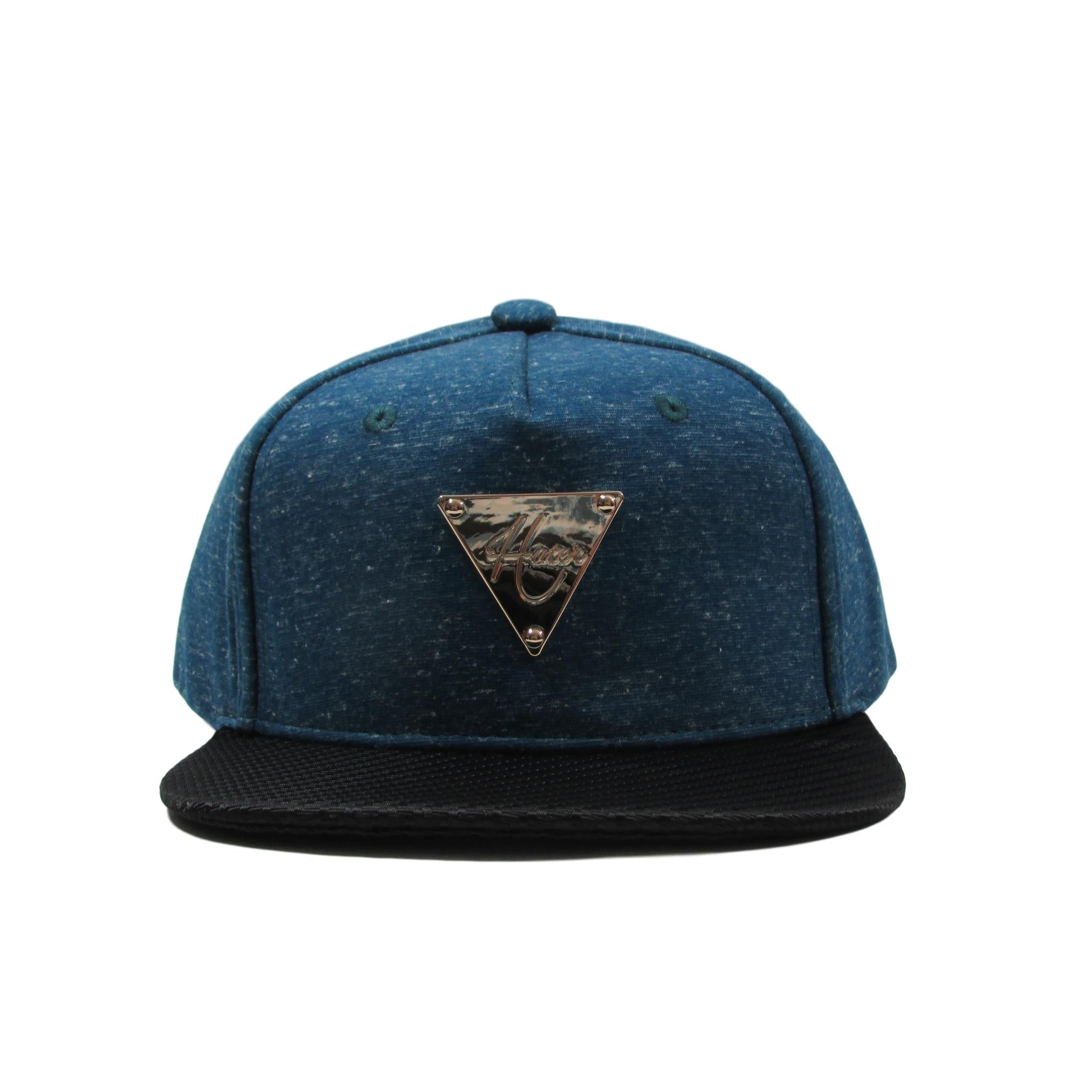 HATer Cloud Dust Snapback Hat w/ Grain Pattern Brim