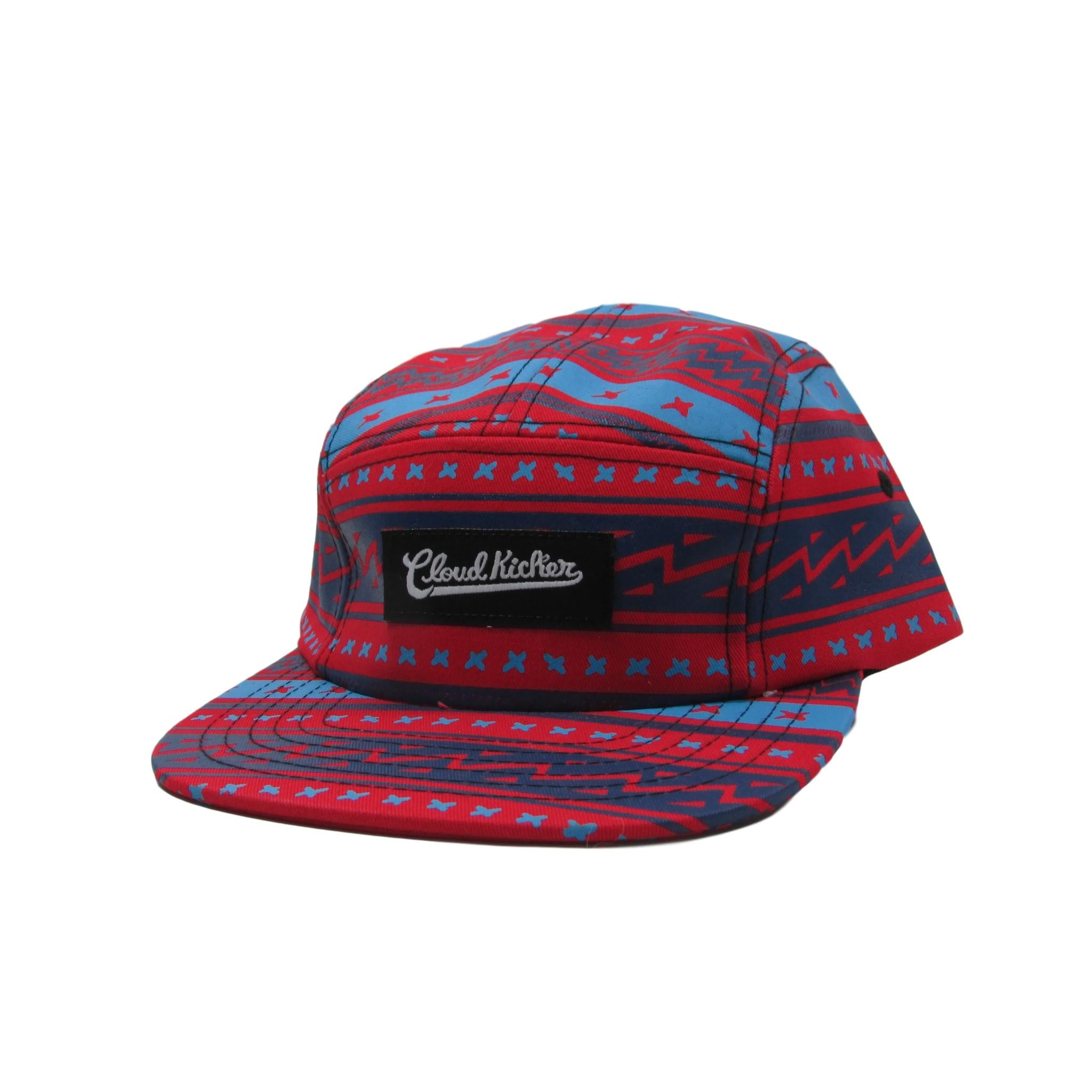 Cloud Kicker America the Great Font Strapback Hat 5 Panel
