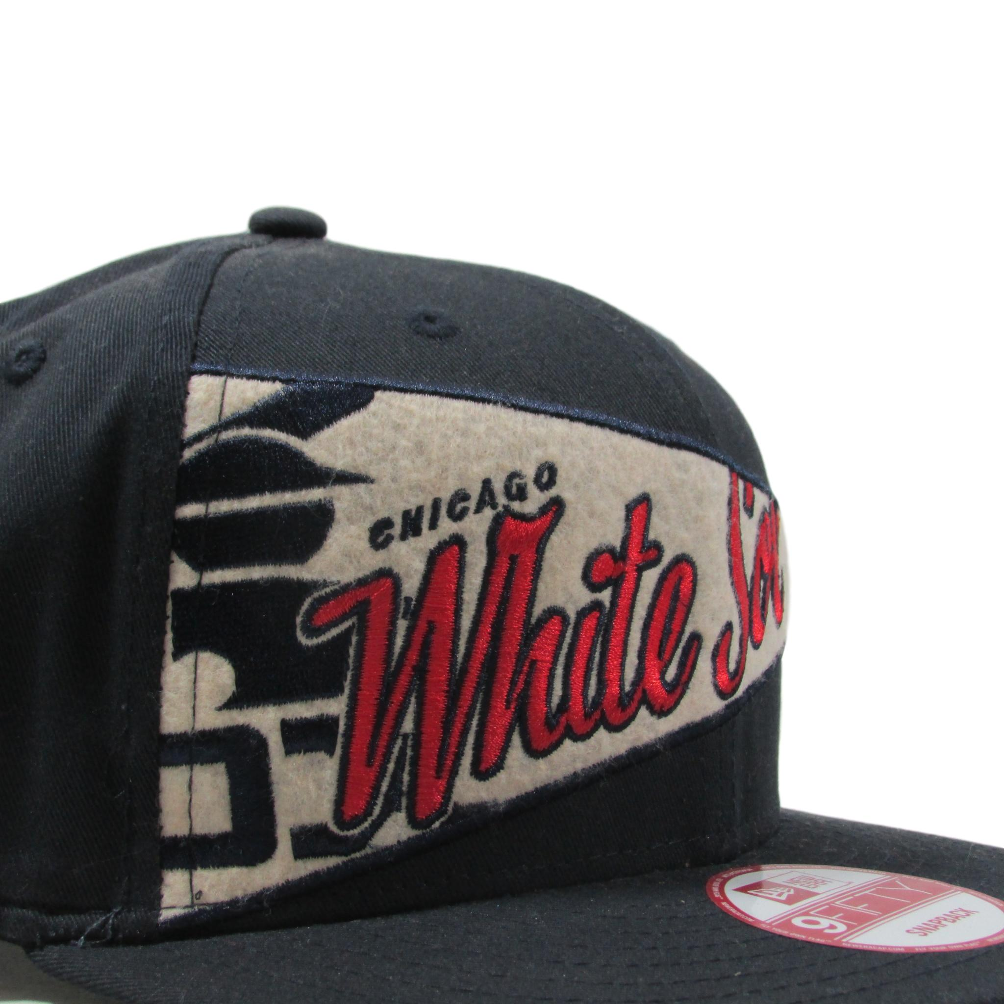 Chicago White Sox Pennant Banner Baseball Snapback Hat New Era